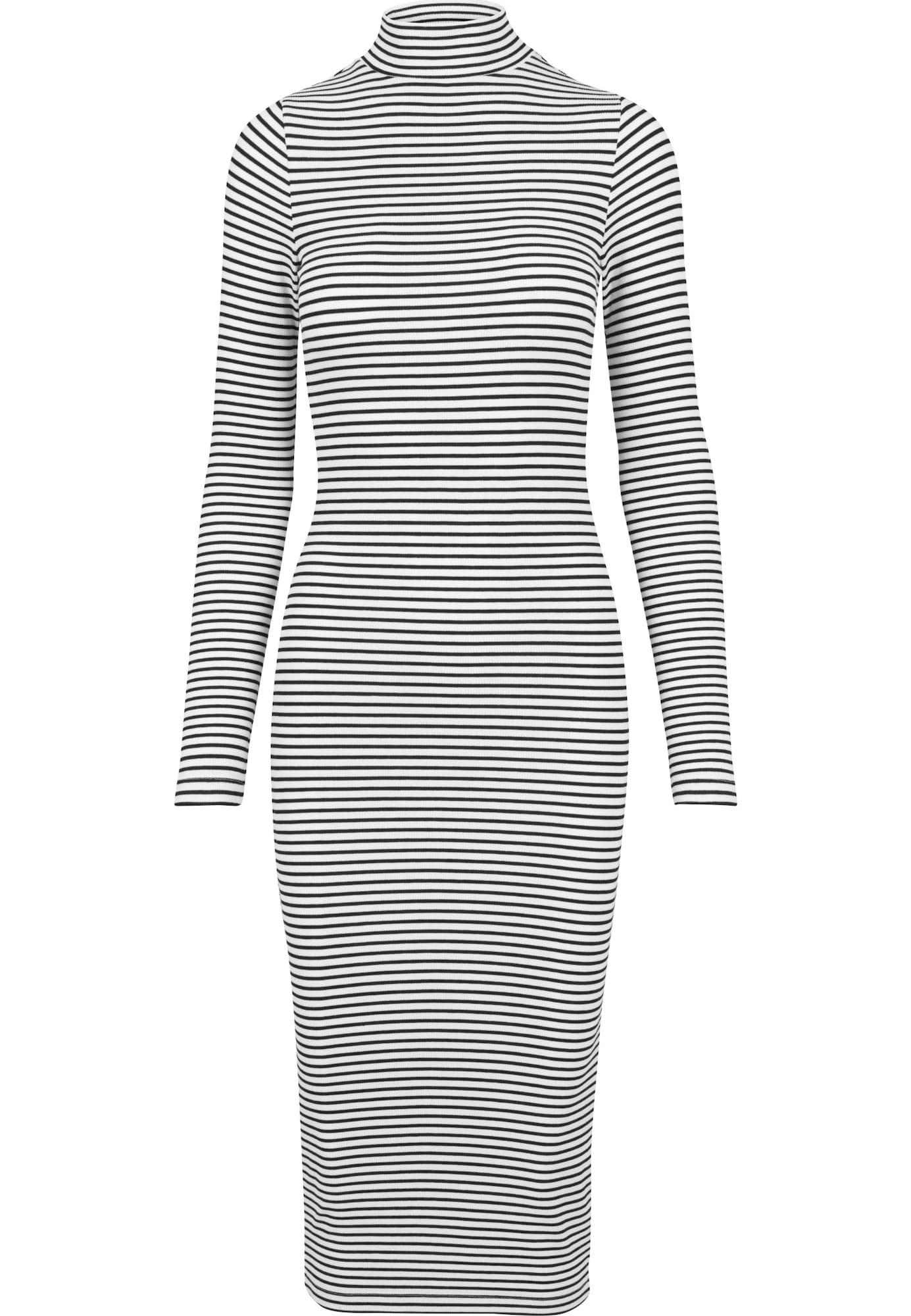Šaty černá bílá Urban Classics