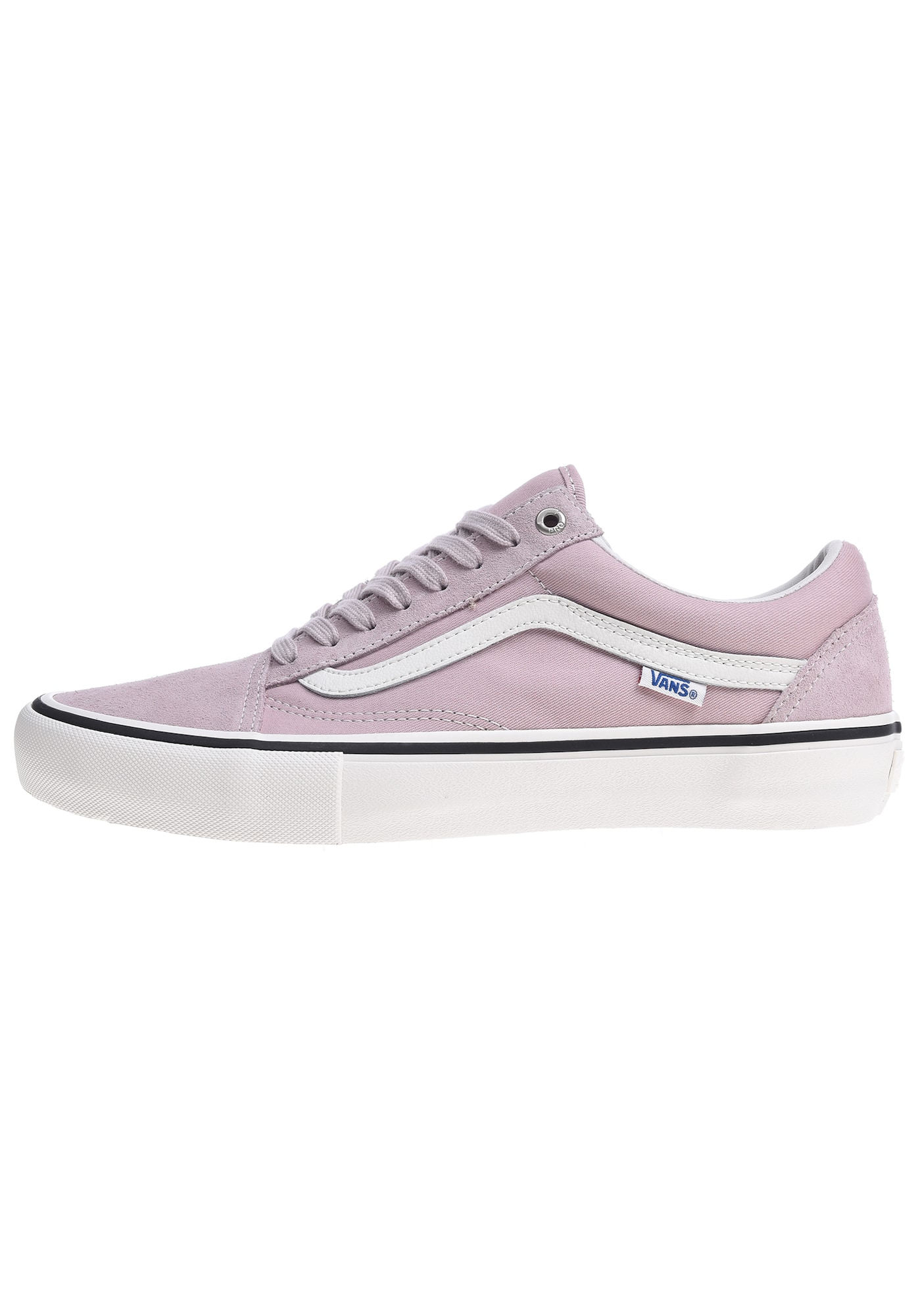 VANS, Heren Sneakers laag 'Old Skool Pro', lichtlila / wit