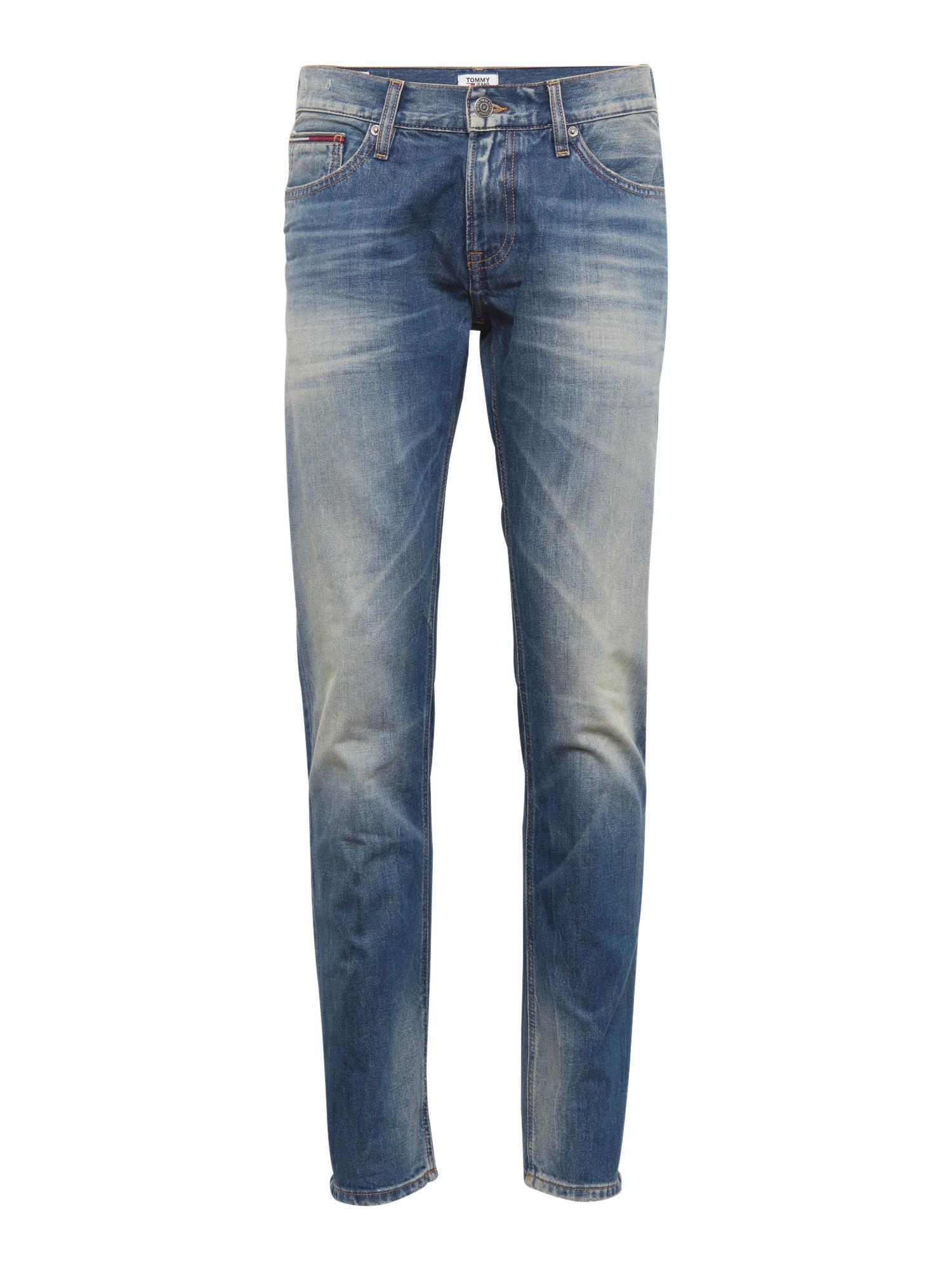 Džíny Slim Scanton PEB modrá džínovina Tommy Jeans