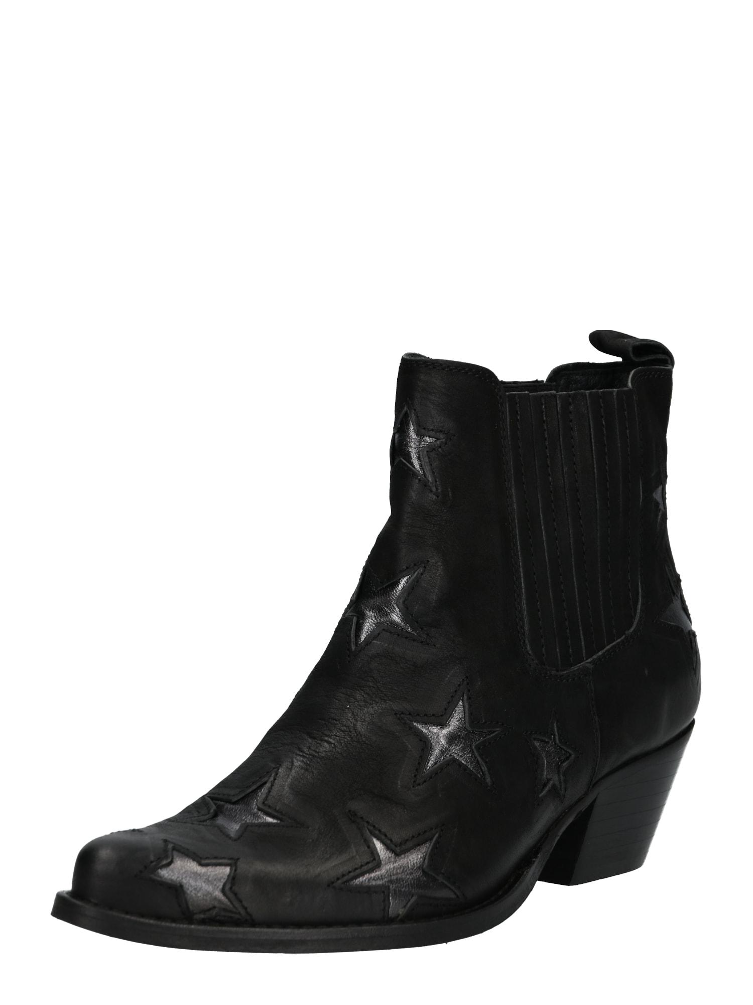 Kotníkové boty CHRISY černá Apple Of Eden
