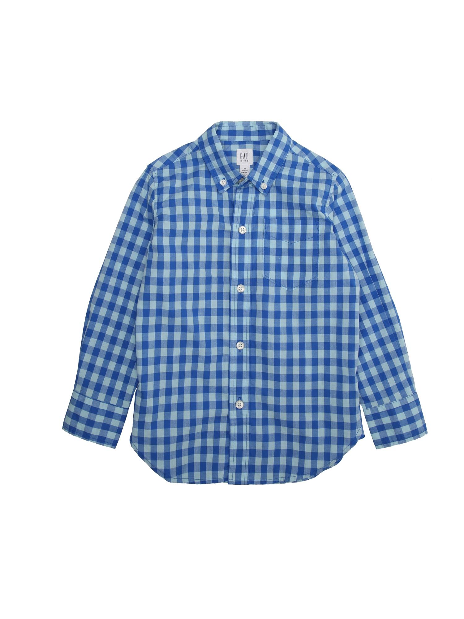 Košile modrá GAP