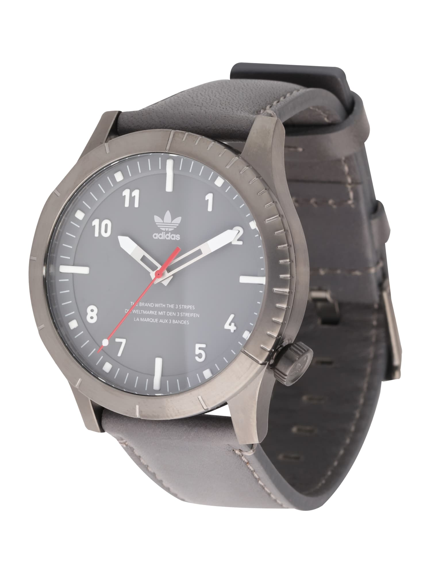 ADIDAS ORIGINALS, Heren Analoog horloge 'Cypher_LX1', grijs