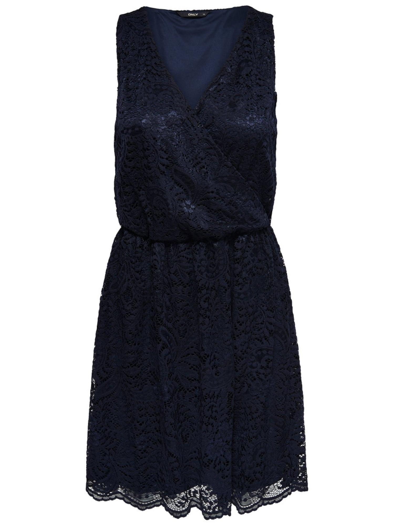 Šaty tmavě modrá ONLY
