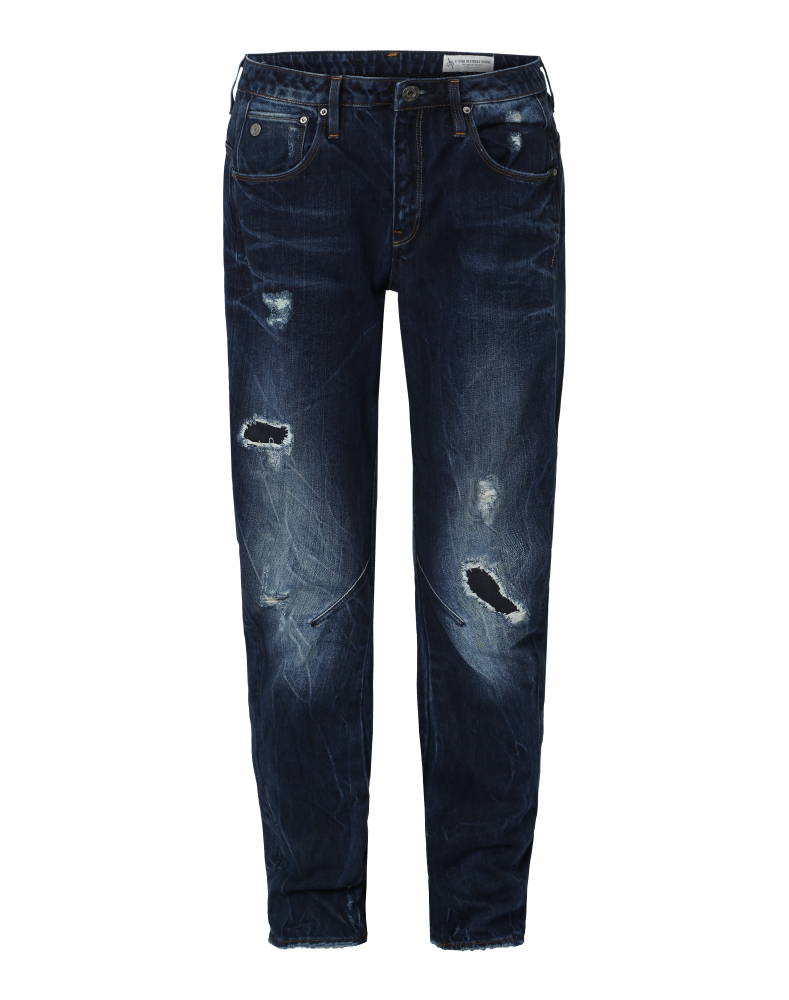 G-STAR RAW Dames Jeans arc 3d donkerblauw