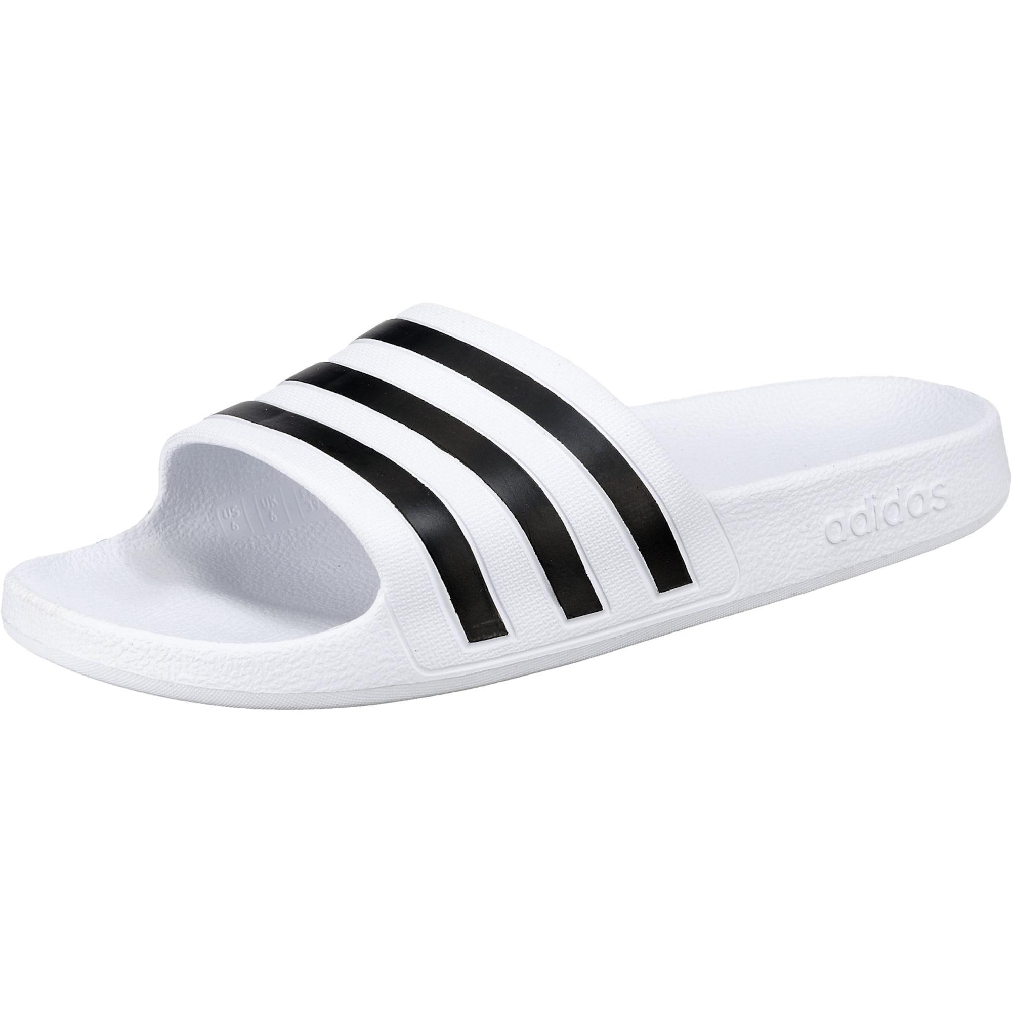 Plážovákoupací obuv Adilette Aqua černá bílá ADIDAS PERFORMANCE