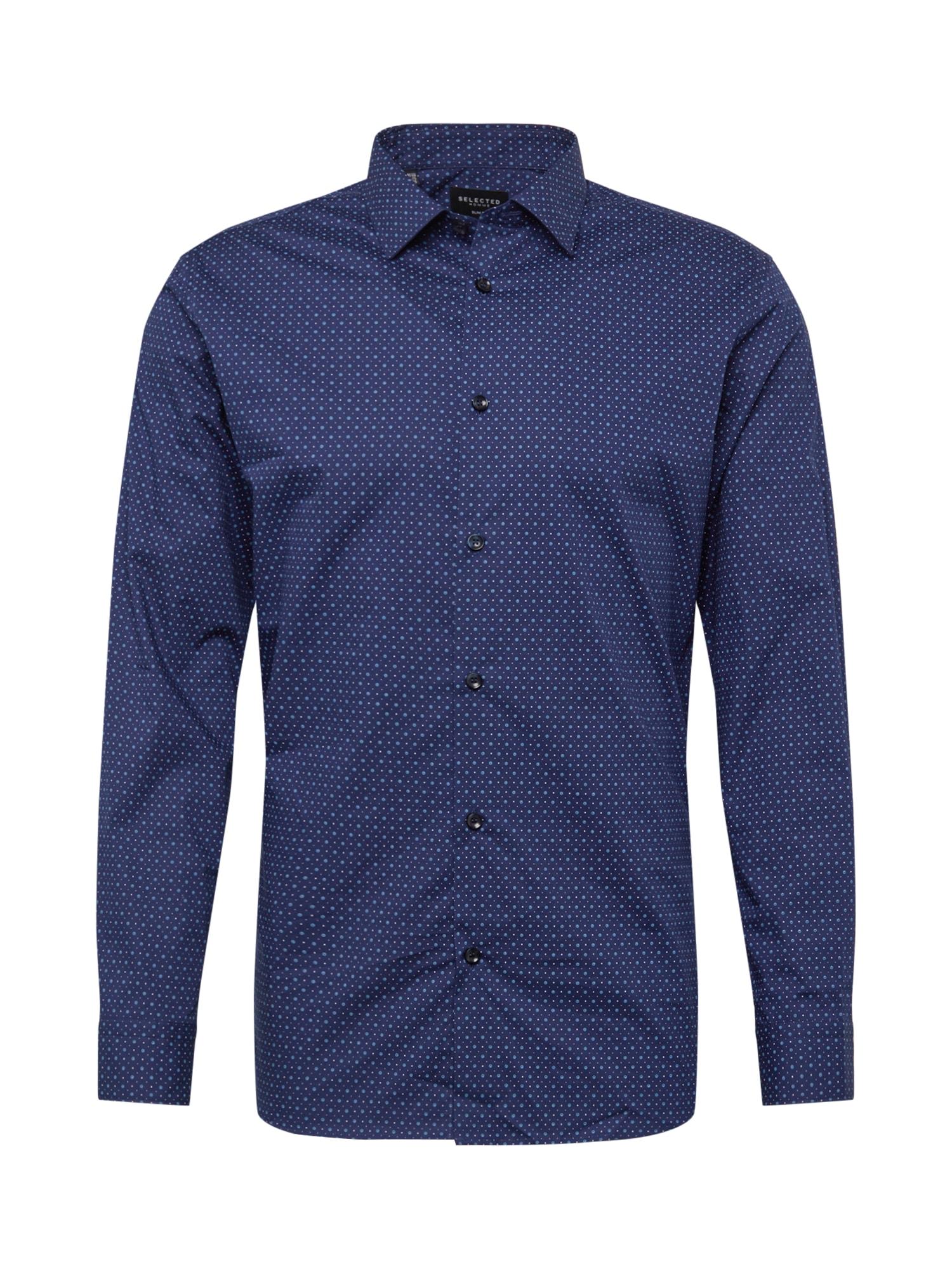 Společenská košile indigo SELECTED HOMME