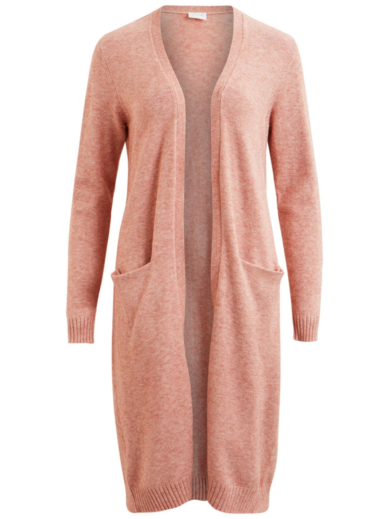 Pletený kabátek Ril růžová VILA