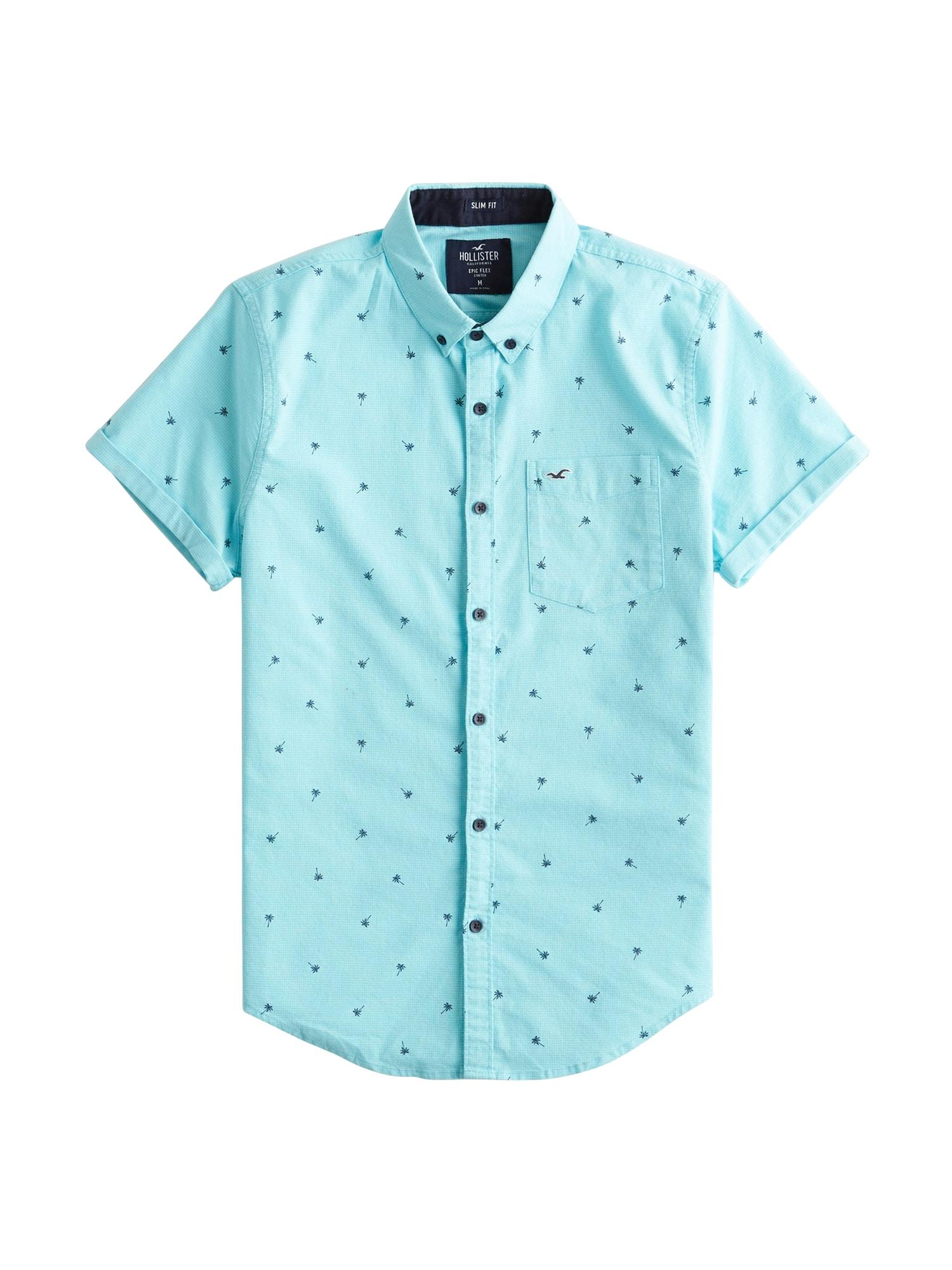 Košile tyrkysová HOLLISTER