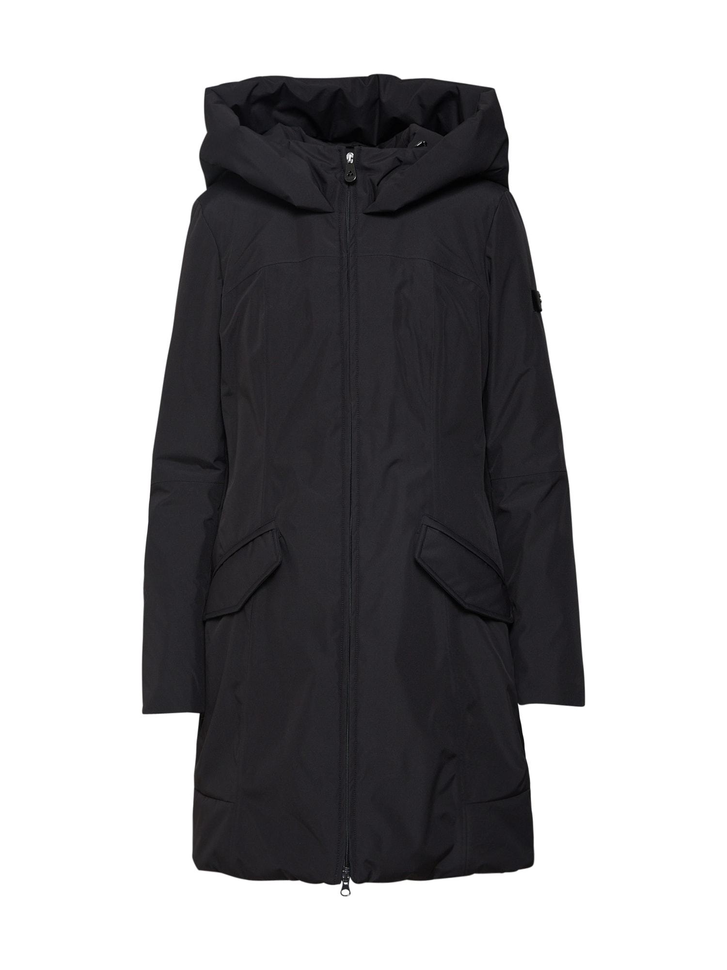 Zimní kabát ALLOS černá Peuterey