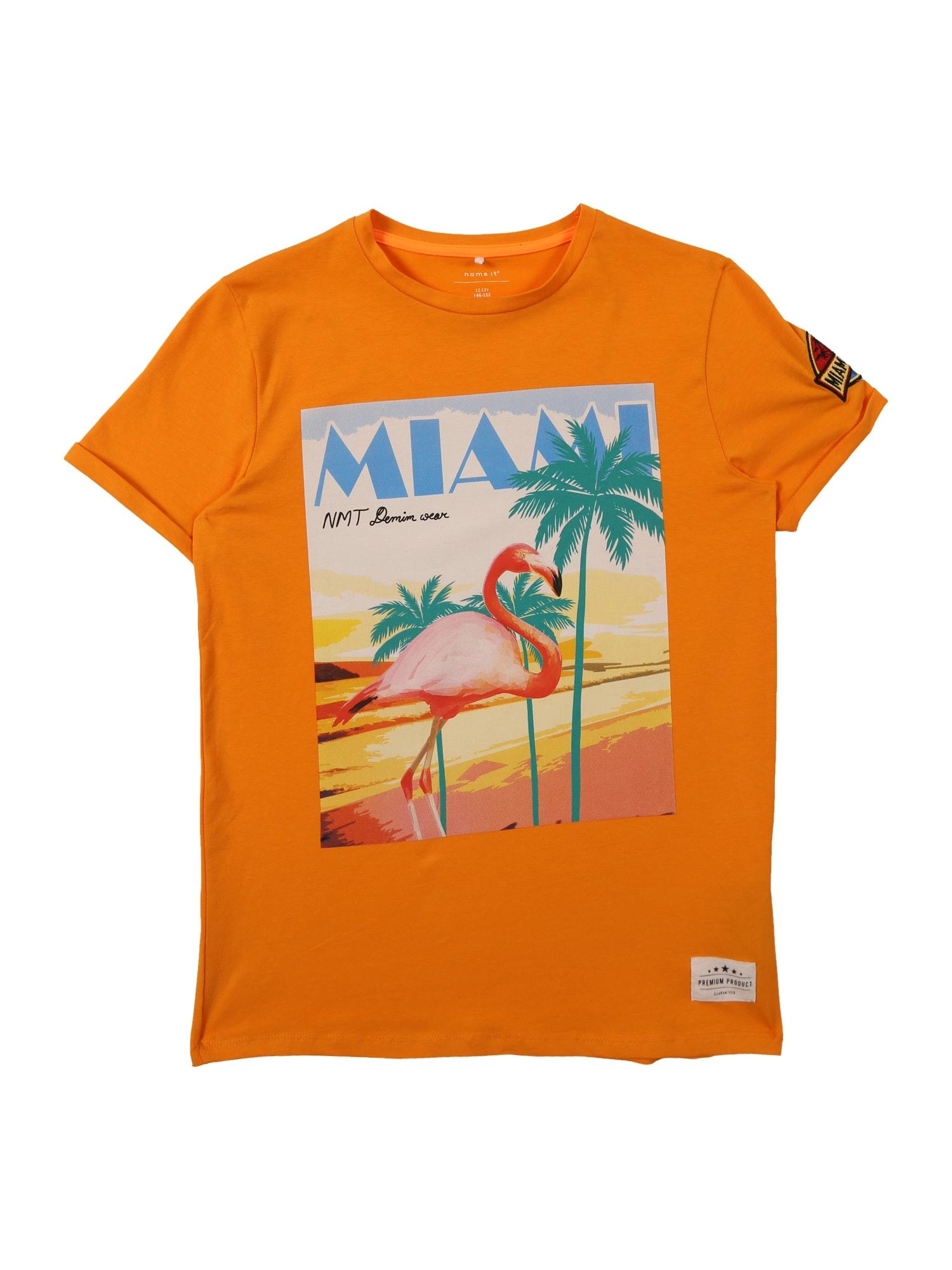 Tričko oranžová NAME IT