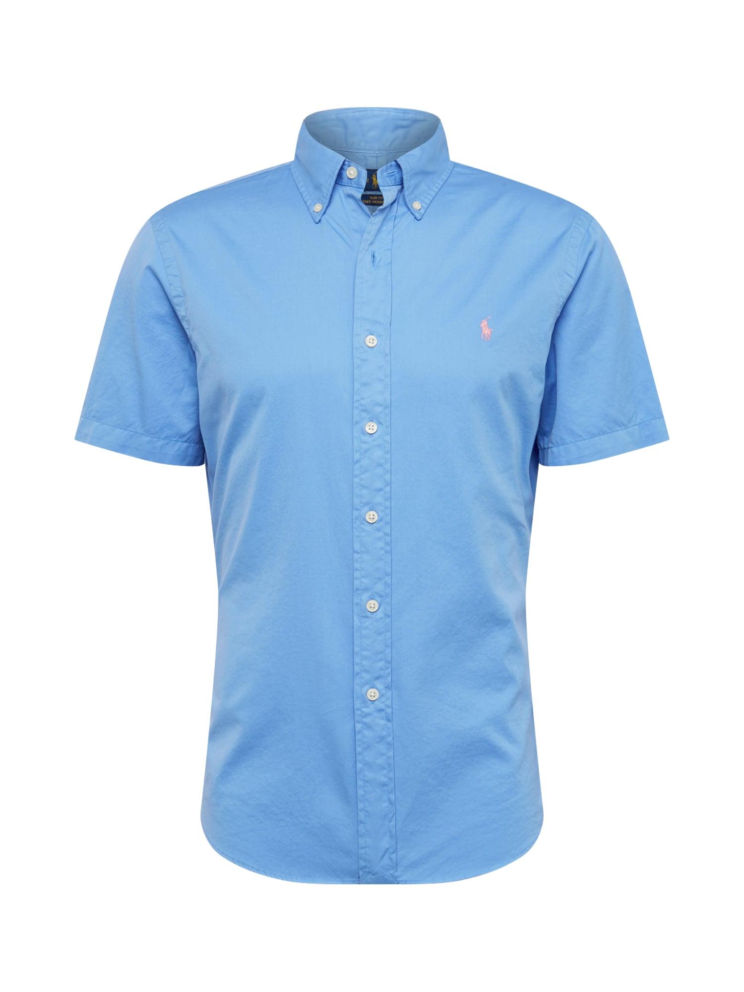 Košile SLBDPPCSSSP-SHORT SLEEVE-SPORT SHIRT modrá POLO RALPH LAUREN