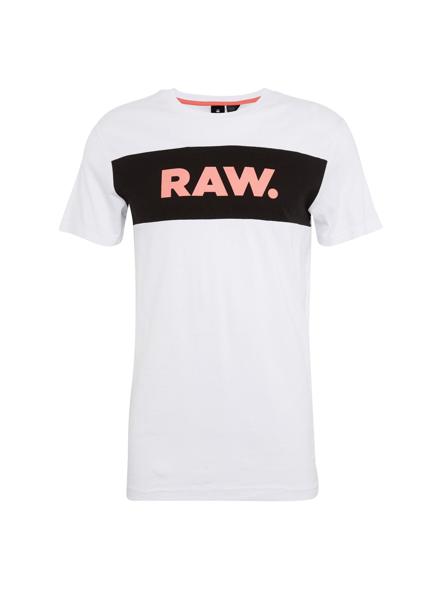 G-STAR RAW Heren Shirt Bellar regular r t s s wit