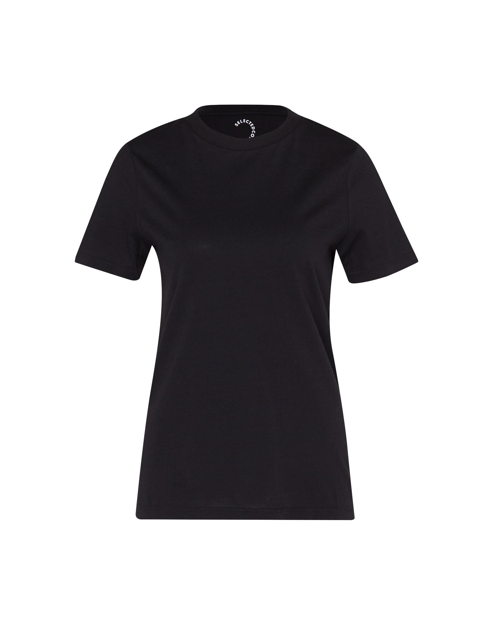 Tričko SFMY PERFECT černá SELECTED FEMME