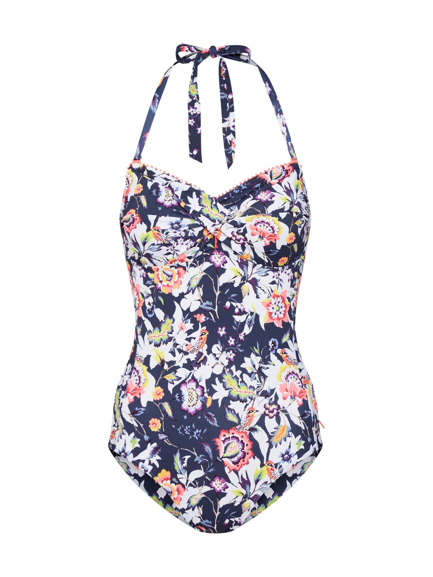 Plavky BOULDERS BEACH   swimsuiit námořnická modř ESPRIT