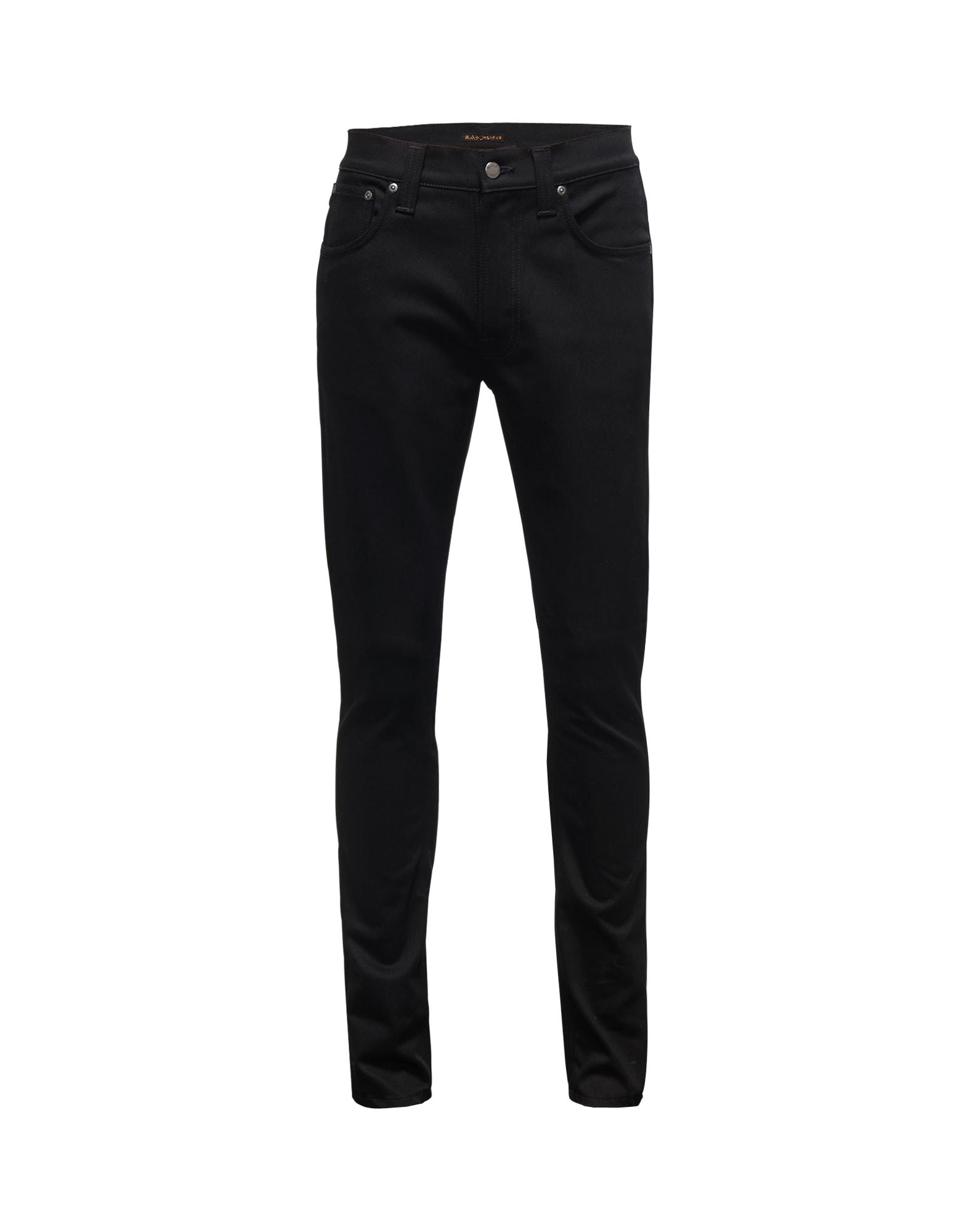 Džíny Lean Dean černá Nudie Jeans Co