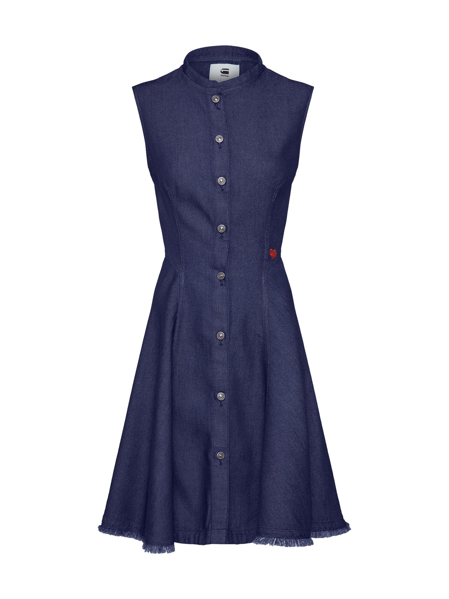 Košilové šaty Bristum modrá G-STAR RAW