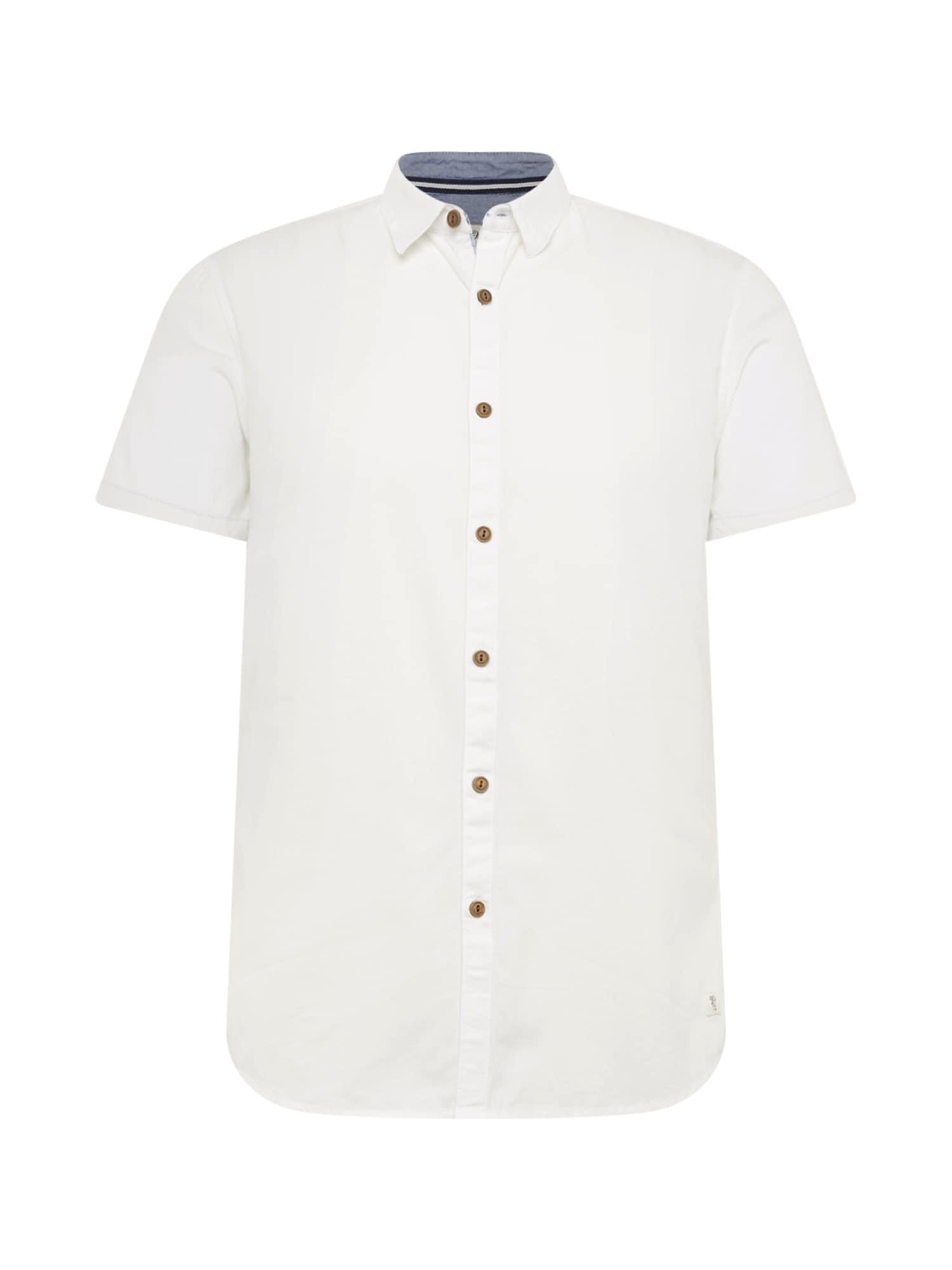 Košile krémová TOM TAILOR DENIM