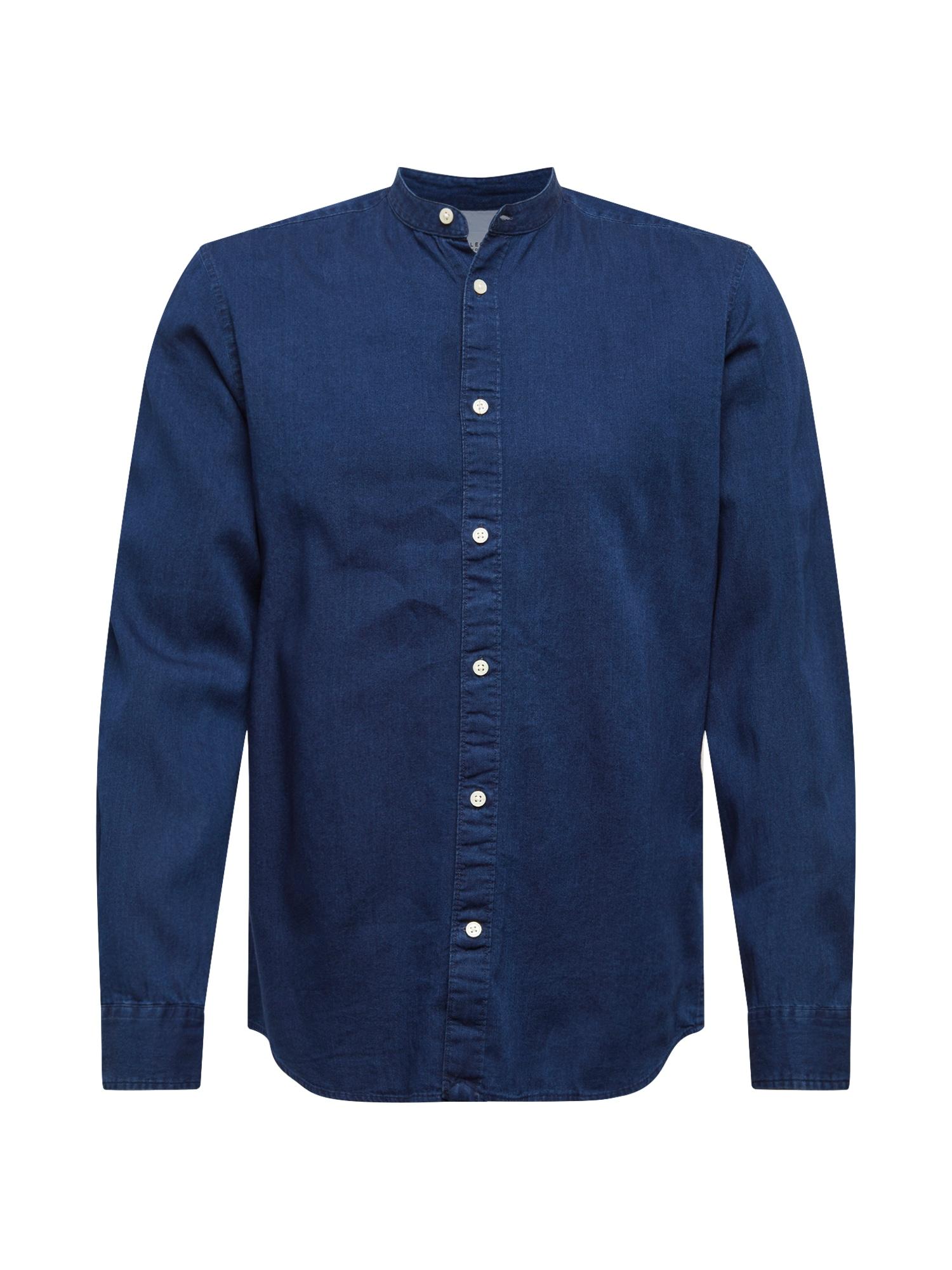 Košile NOLAN modrá SELECTED HOMME