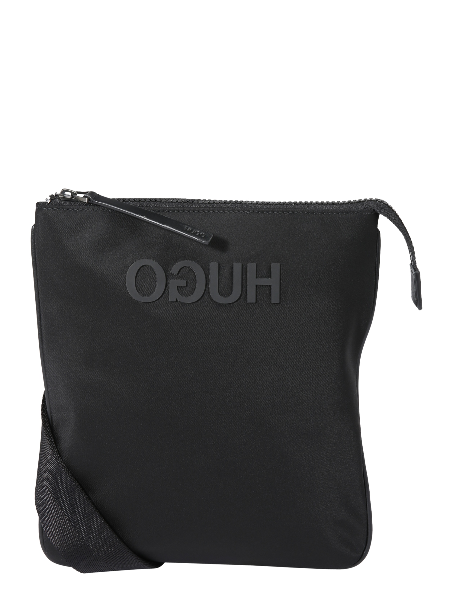 Taška přes rameno Record_S zip env černá HUGO