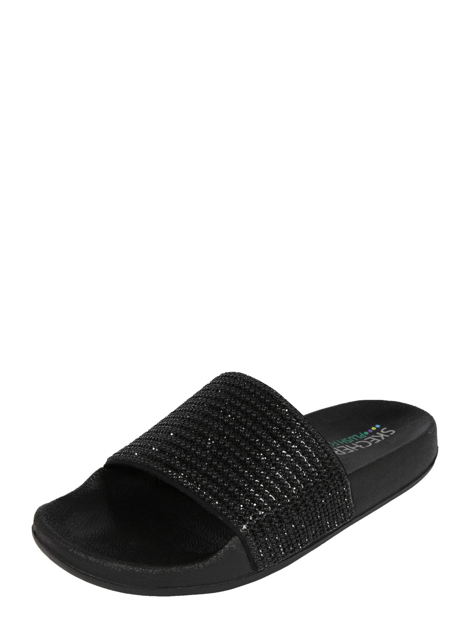 Pantofle POP UPS - HALO POWER černá SKECHERS
