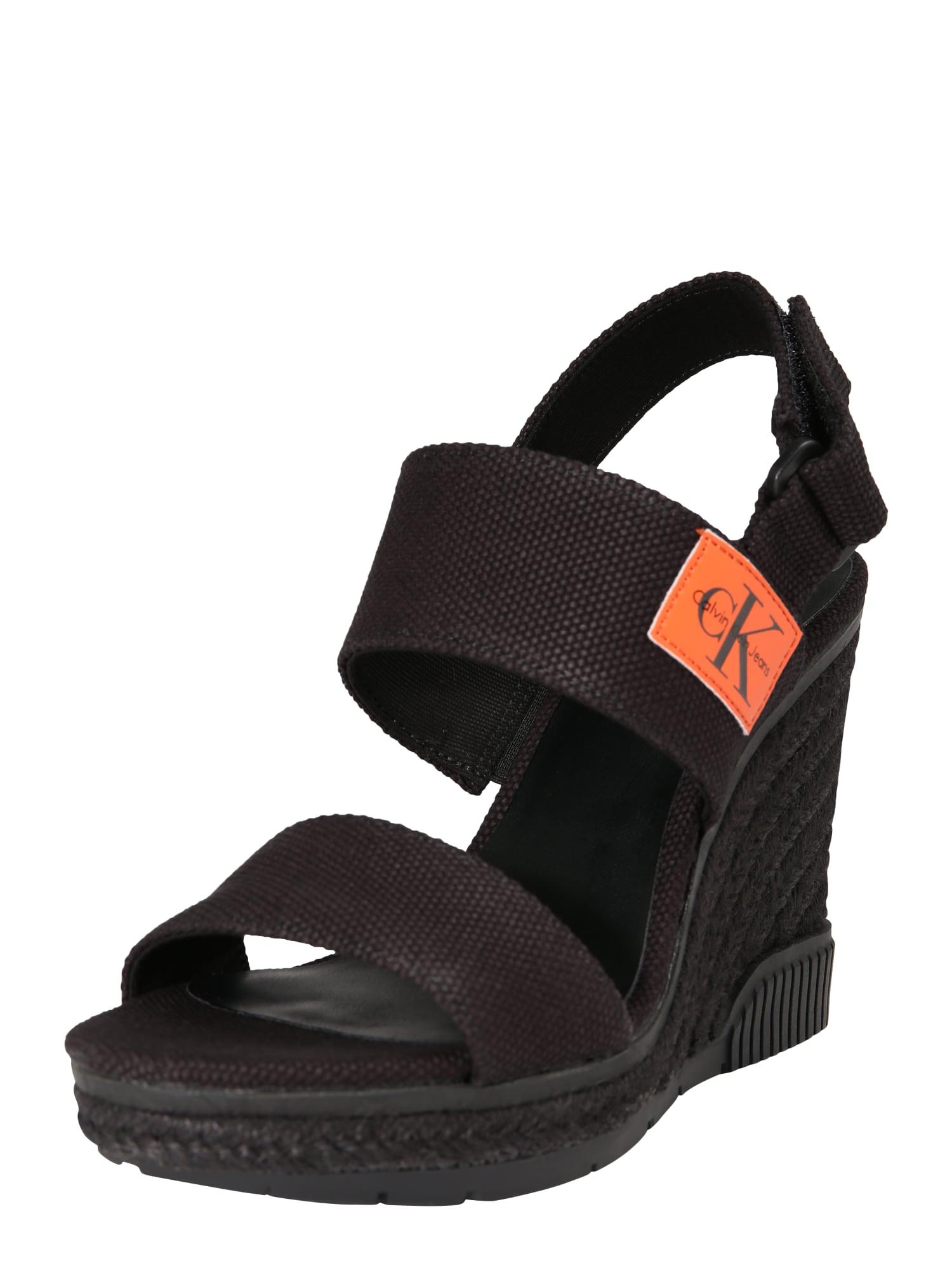 Sandály LACEY černá Calvin Klein Jeans