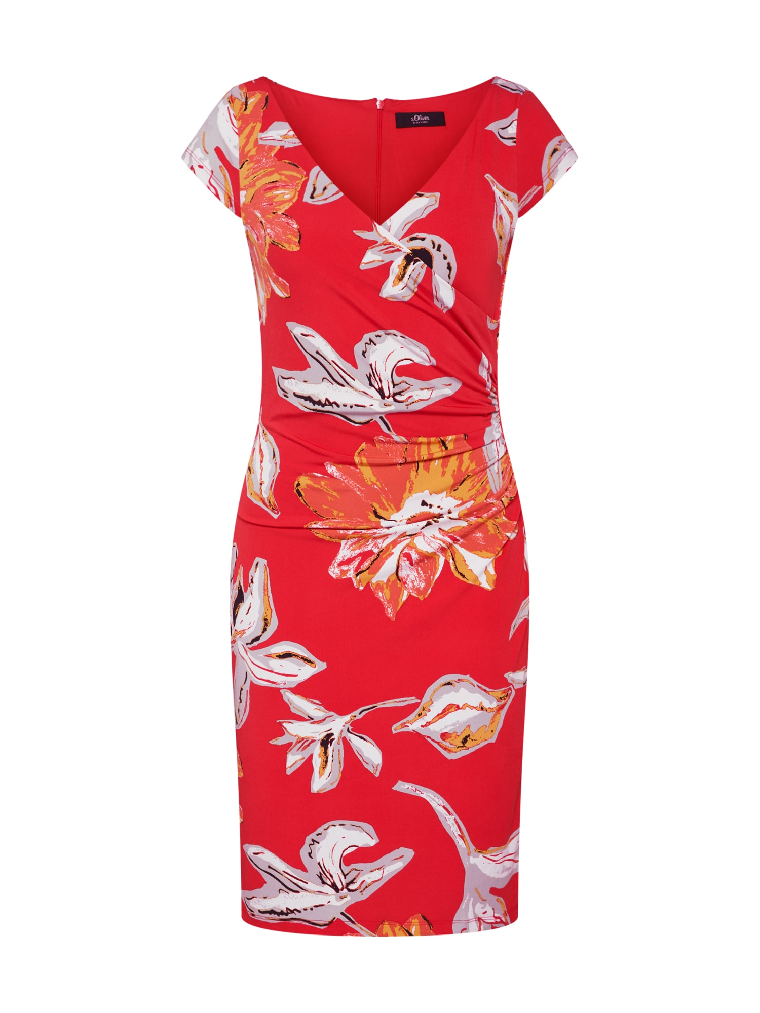 Letní šaty  mix barev  grenadina S.Oliver BLACK LABEL
