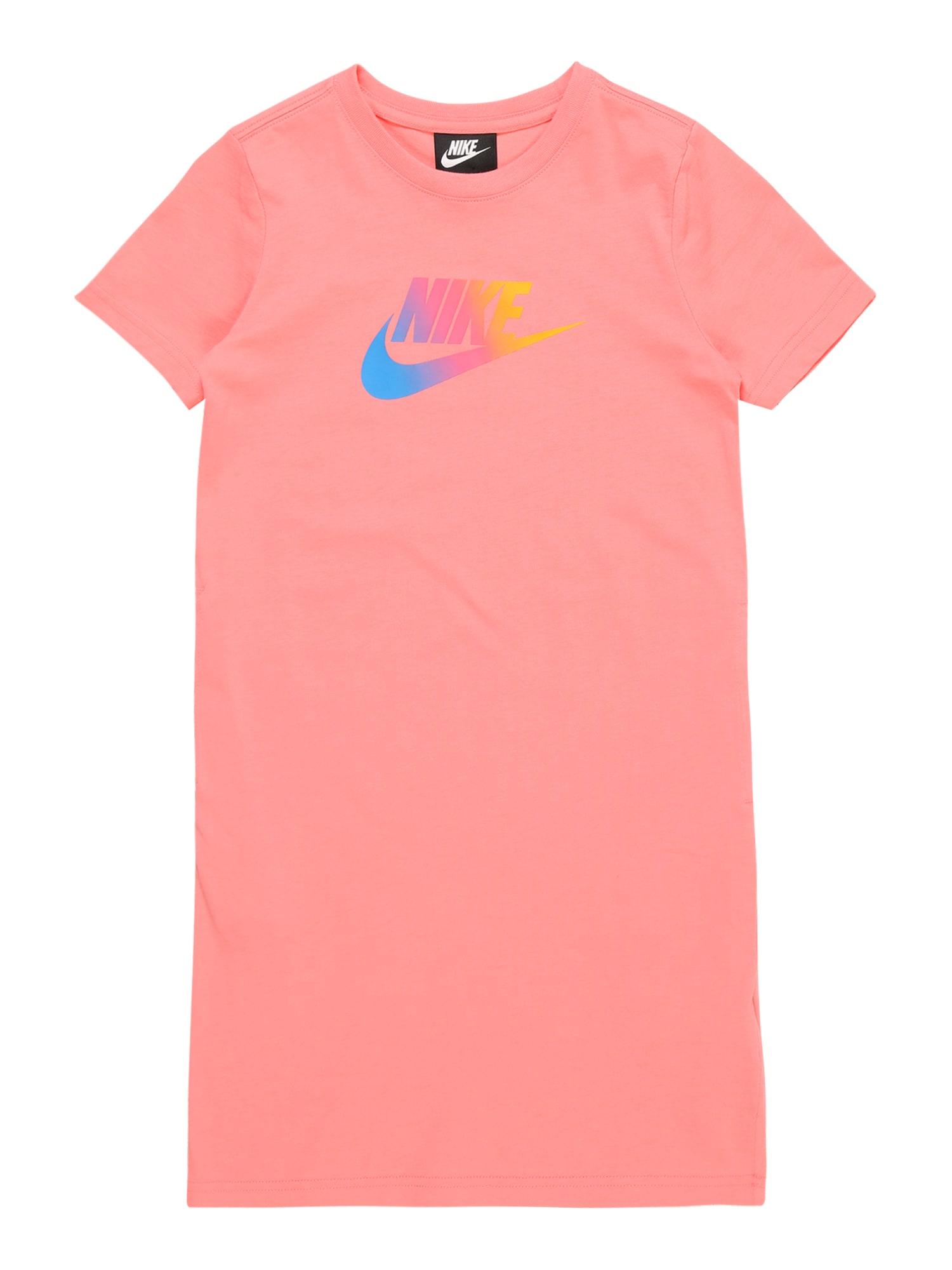 Šaty lososová Nike Sportswear