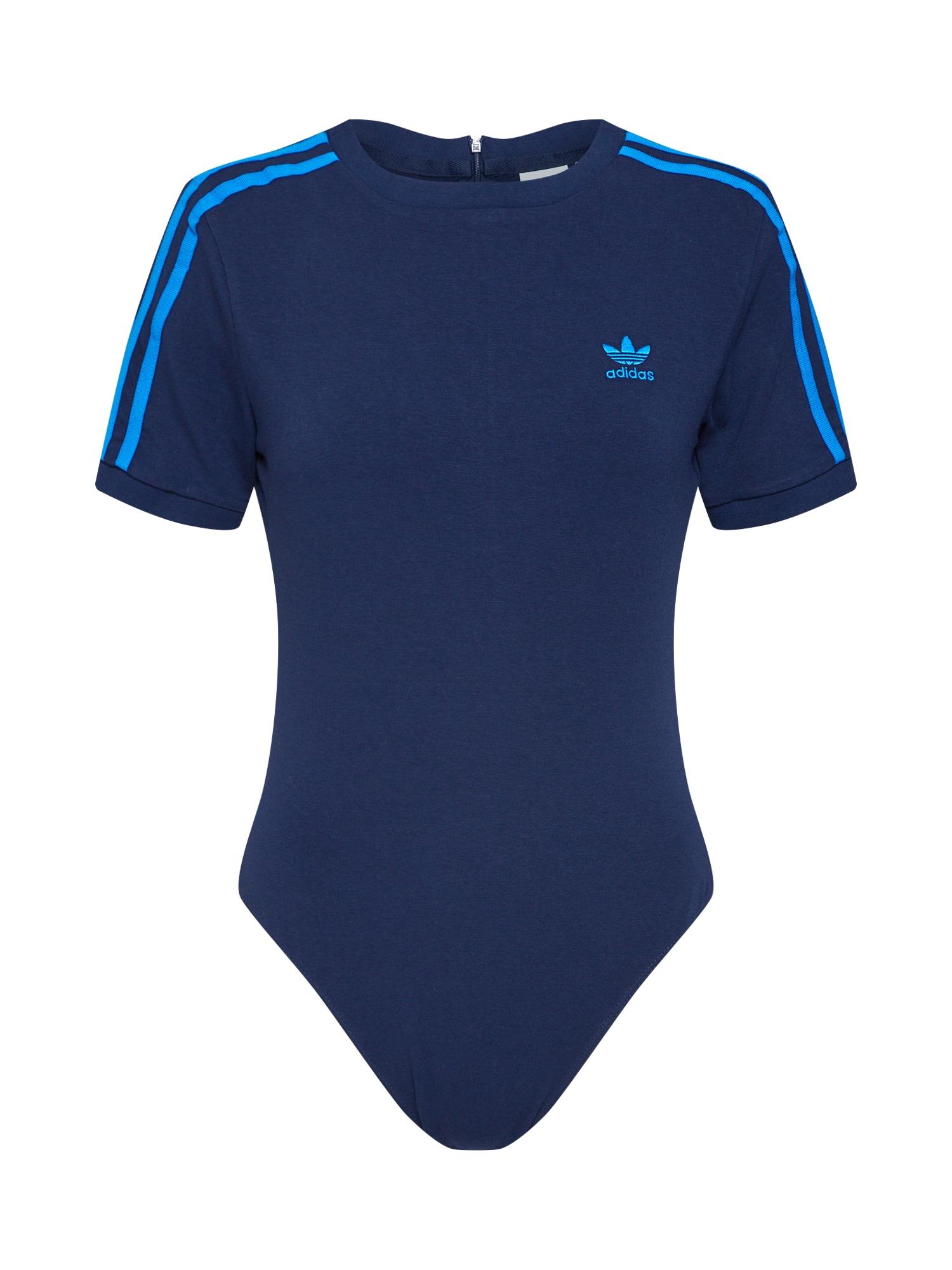 Tričko námořnická modř ADIDAS ORIGINALS
