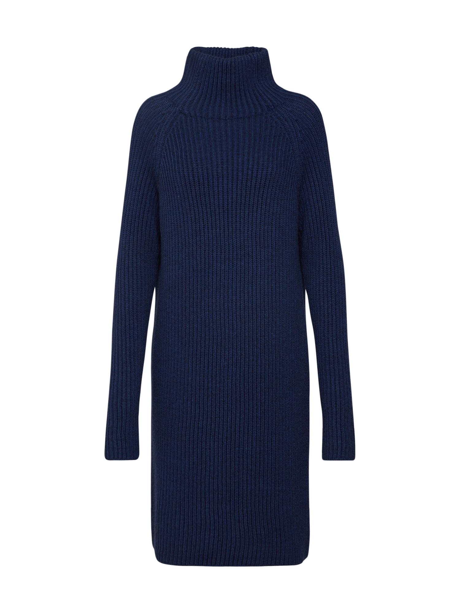 Úpletové šaty ARWENIA modrá DRYKORN