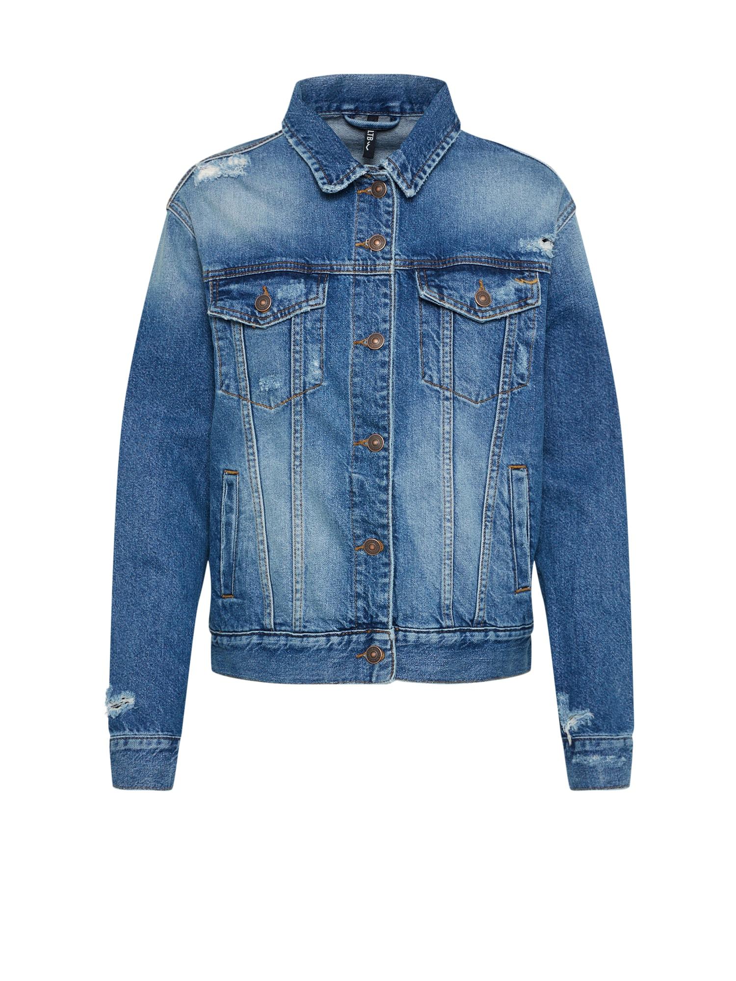 Přechodná bunda ALOE modrá džínovina LTB