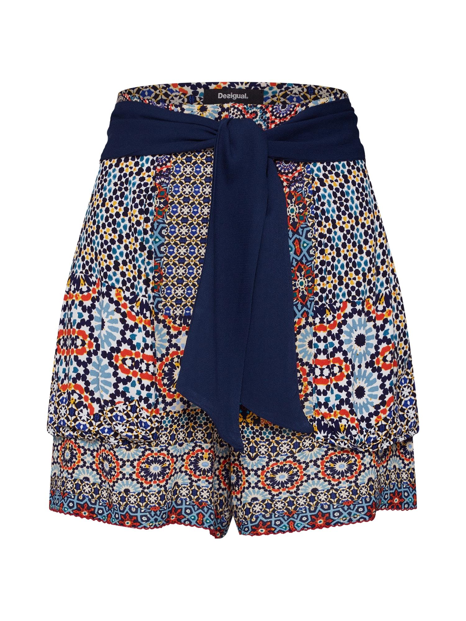 Kalhoty PANT_SHASA  mix barev Desigual