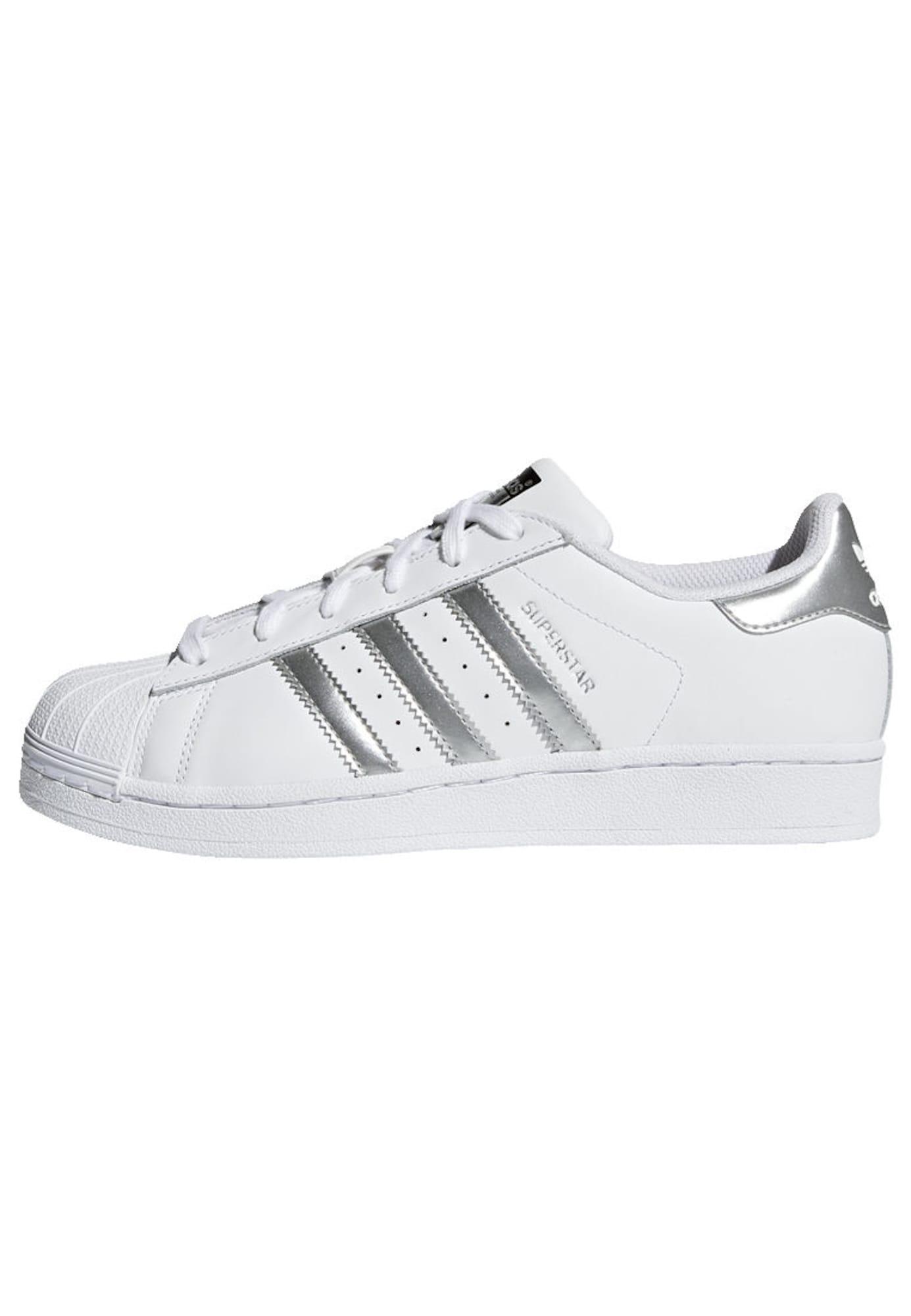 Tenisky Superstar stříbrná bílá ADIDAS ORIGINALS