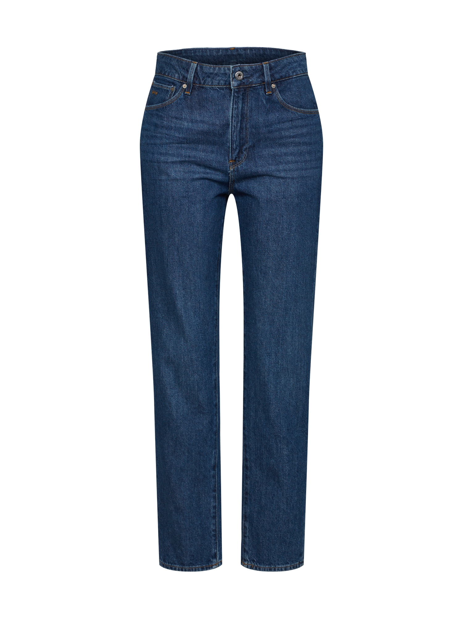 Džíny 3301 High Straight 90s Ankle Wmn modrá G-STAR RAW
