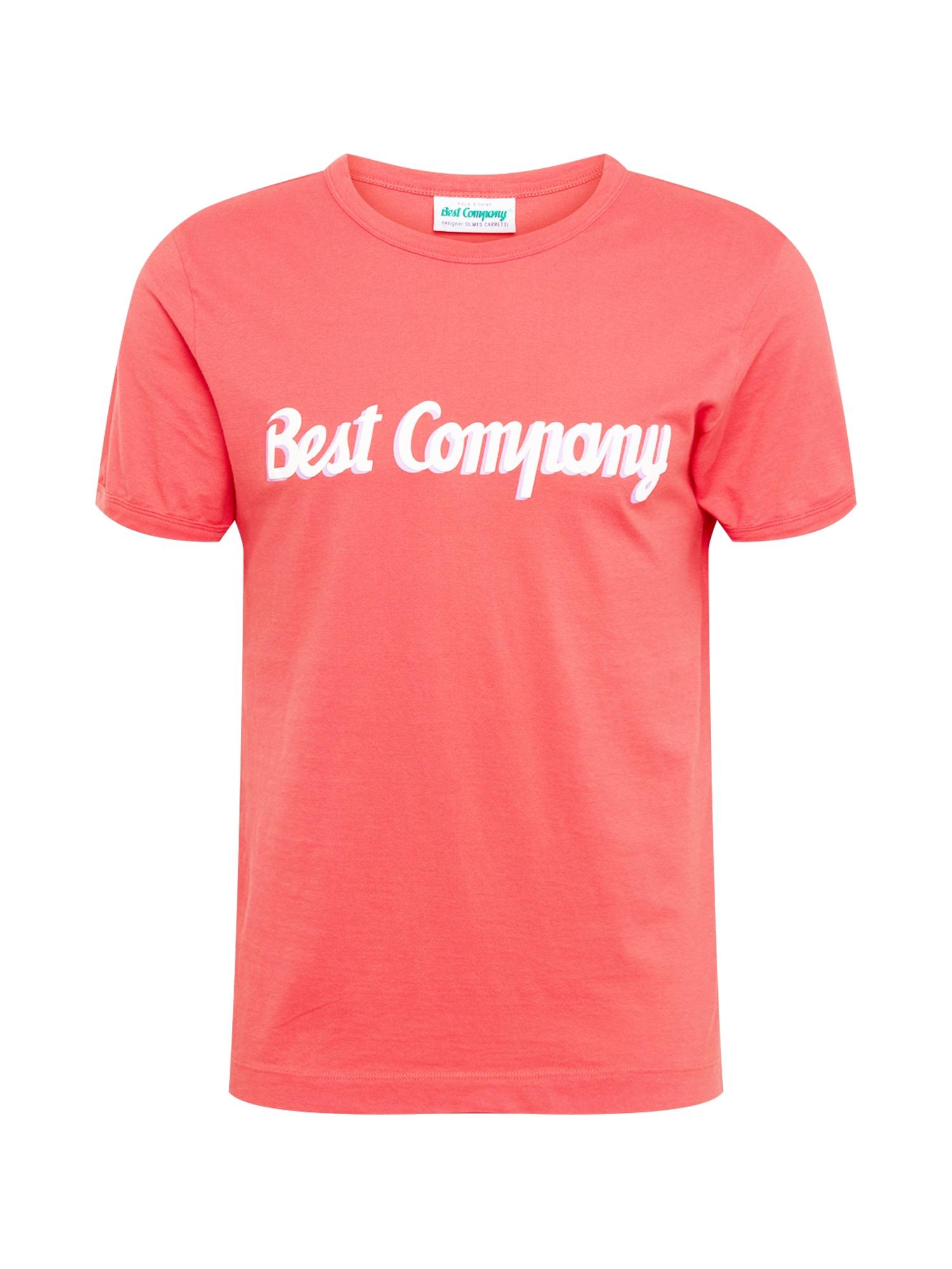 Tričko melounová bílá Best Company