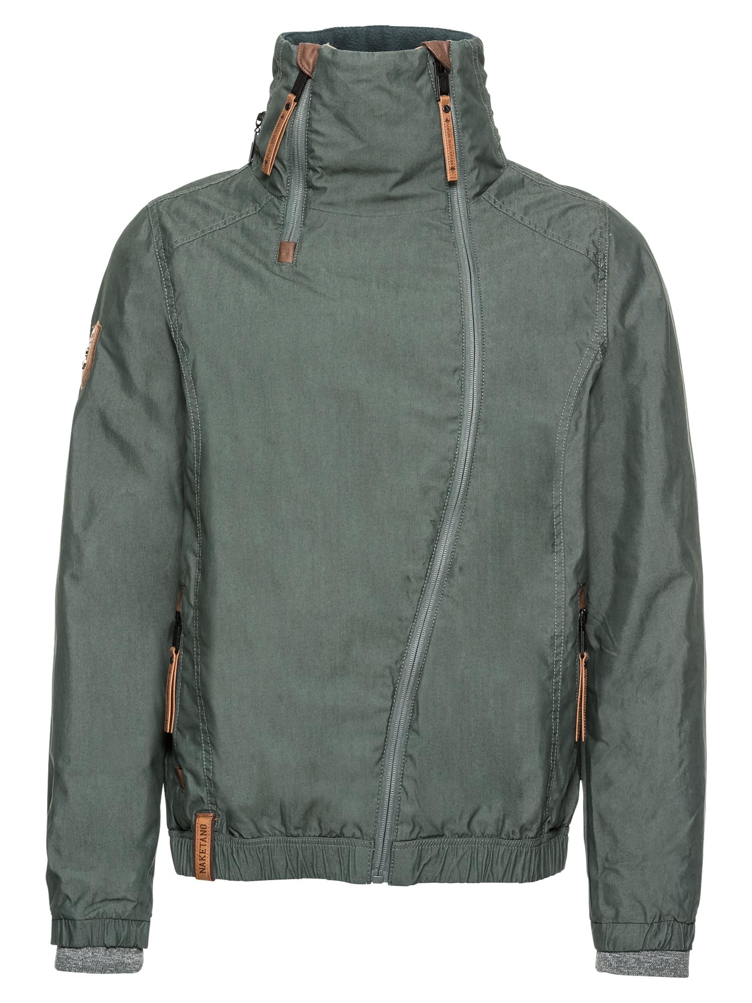 Přechodná bunda trávově zelená Naketano