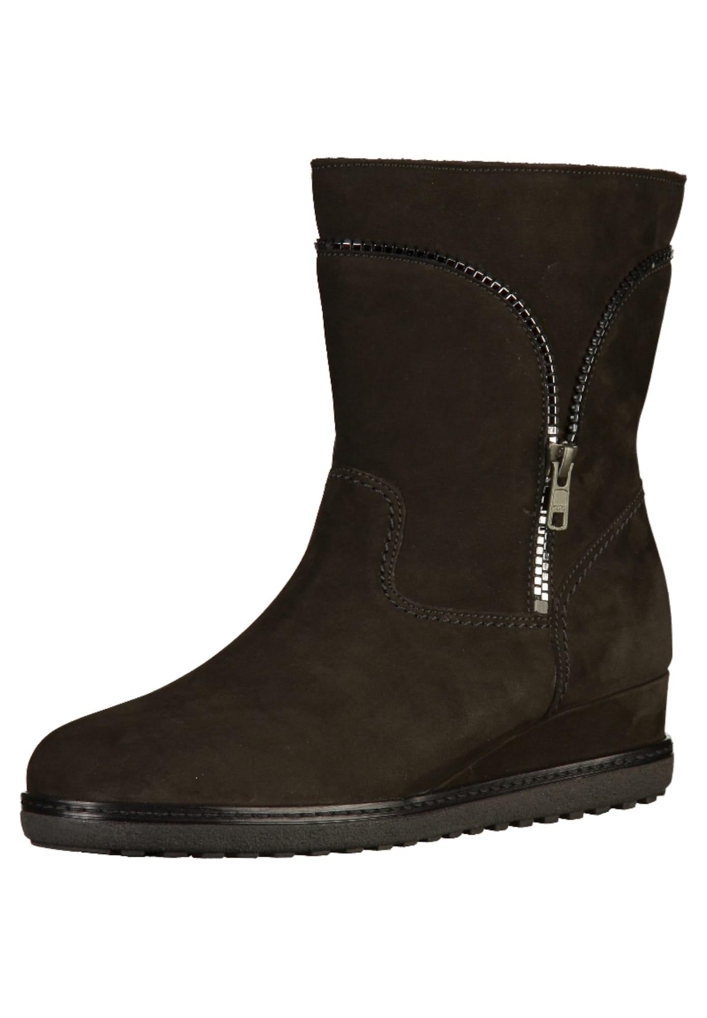Stiefelette | Schuhe > Stiefeletten | Schwarz - Silber | Gabor