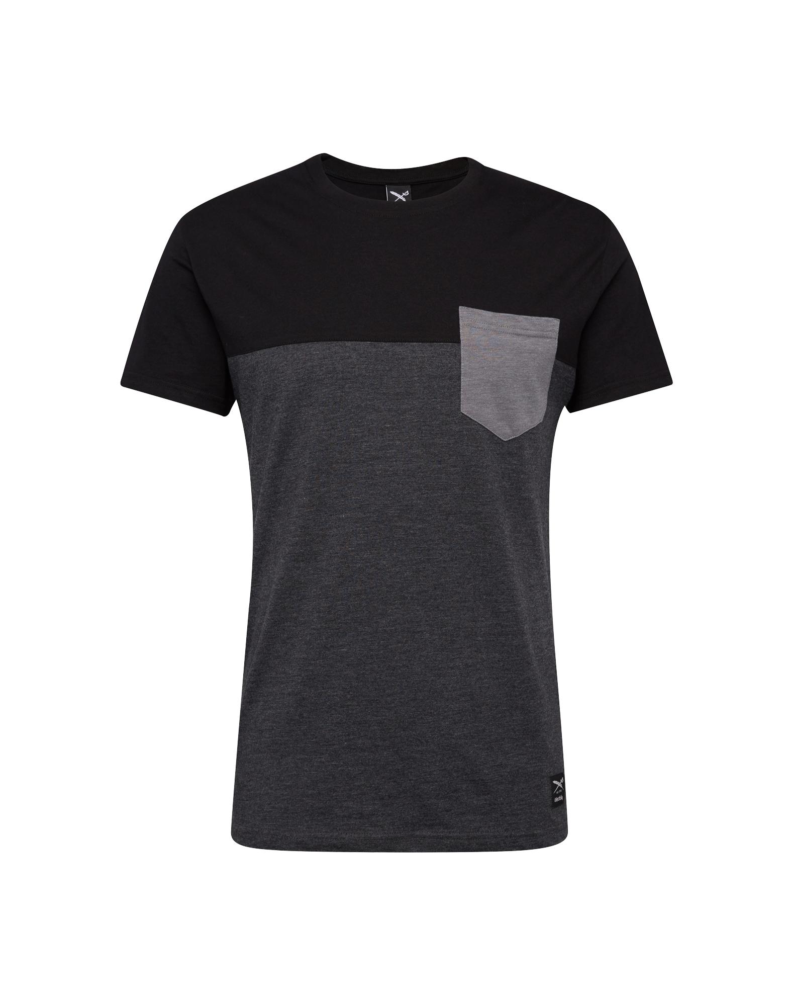 Tričko šedá černá Iriedaily