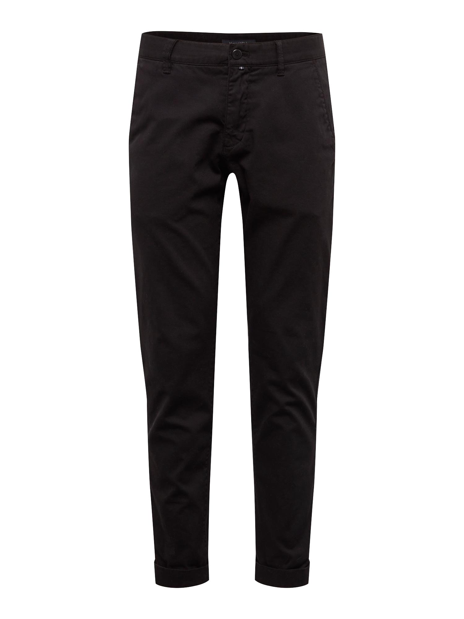 Marc OPolo Chino kalhoty Stig černá Marc O'Polo