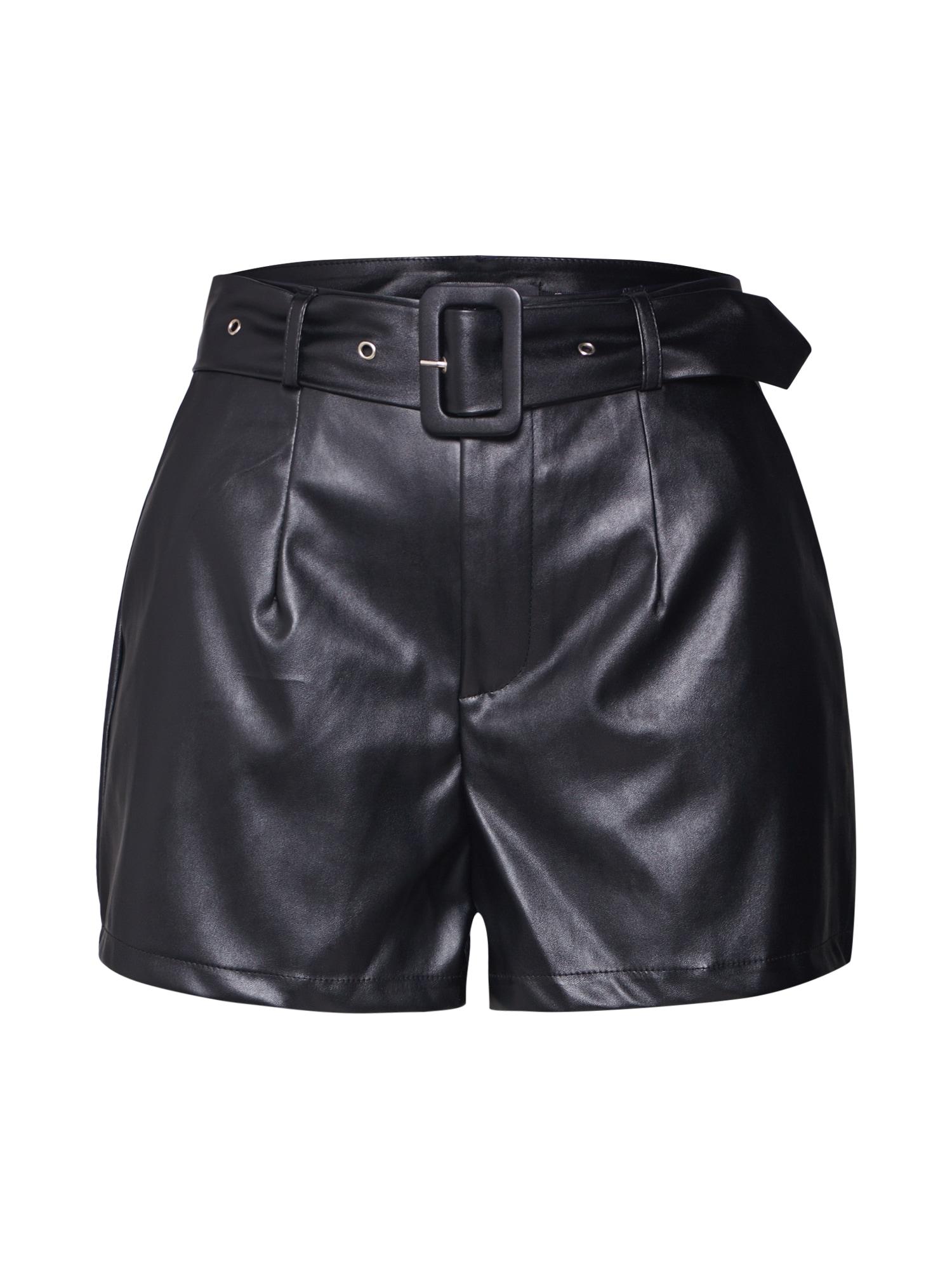 Kunstlederhose | Bekleidung > Hosen > Lederhosen & Kunstlederhosen | Schwarz | Missguided