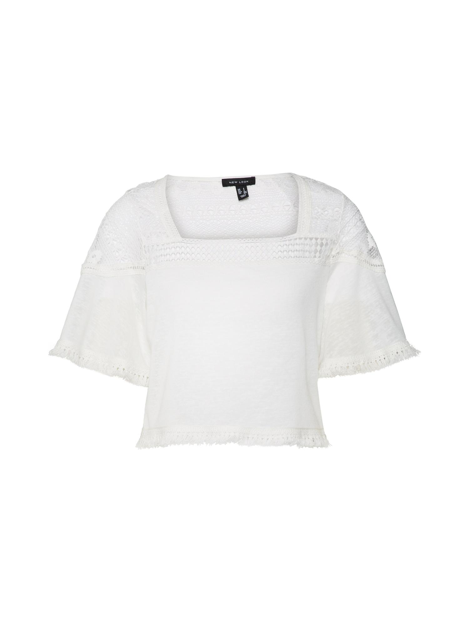 Tričko bílá NEW LOOK