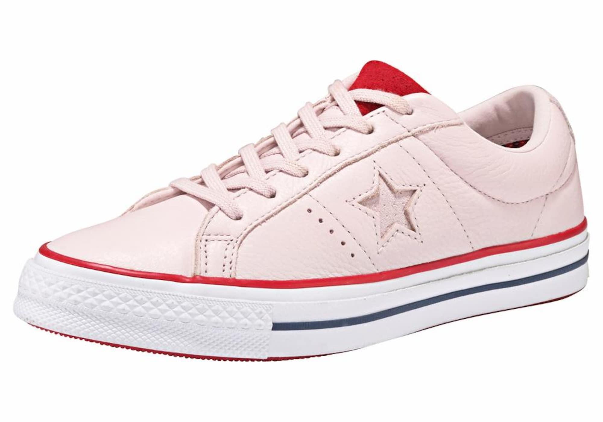 Tenisky ONE STAR OX růžová světle červená CONVERSE