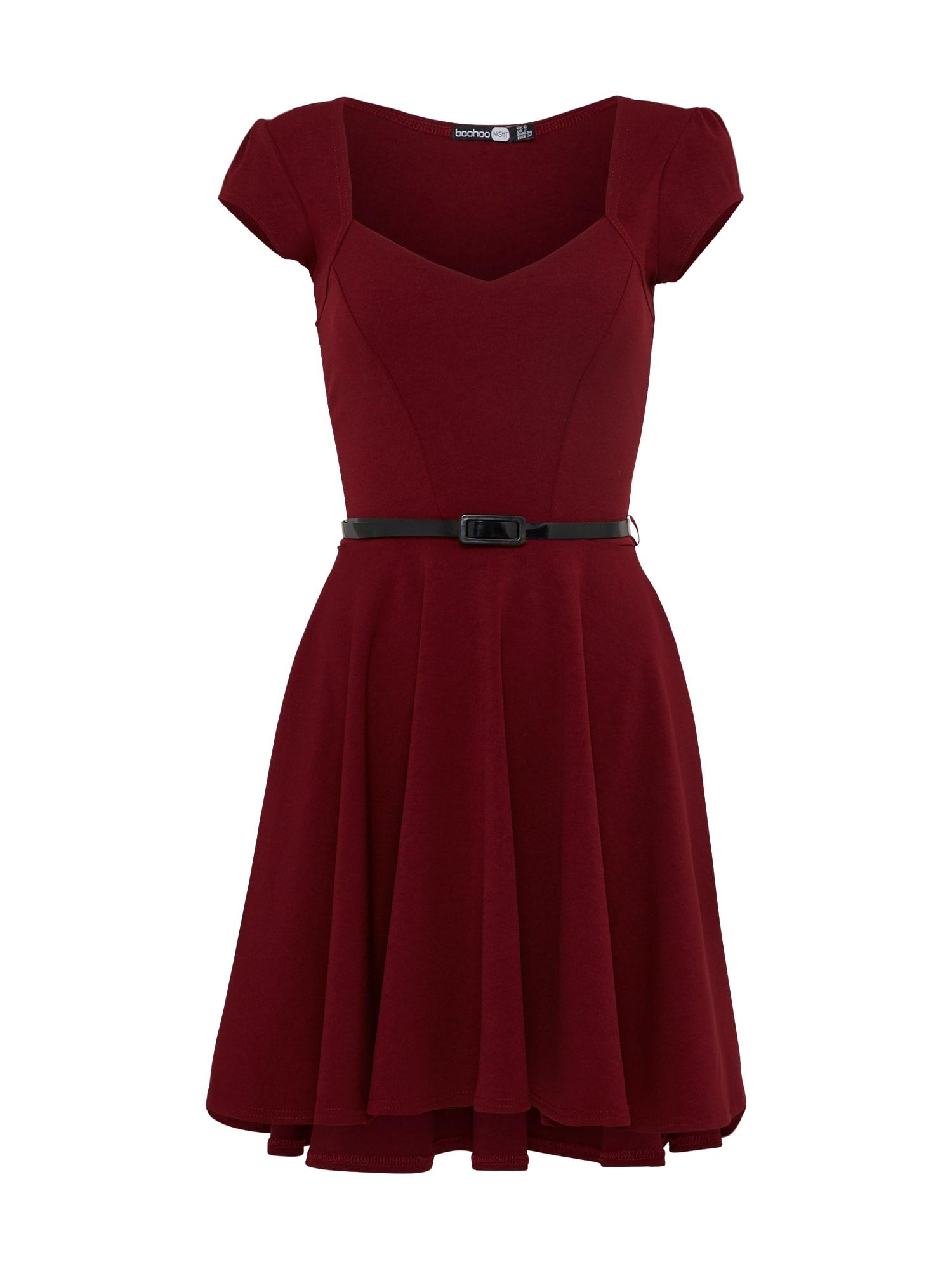 Šaty Lara červená Boohoo