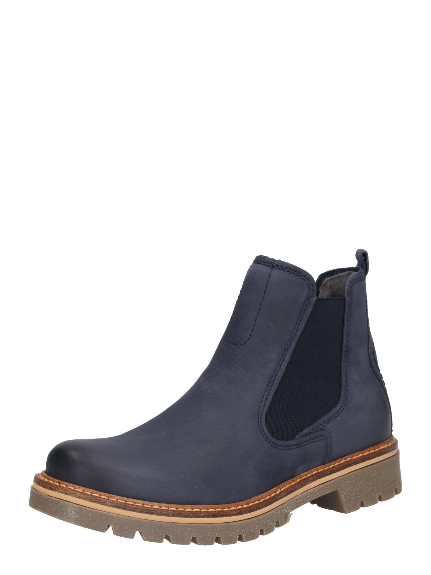 Chelsea boty Canberra modrá džínovina CAMEL ACTIVE