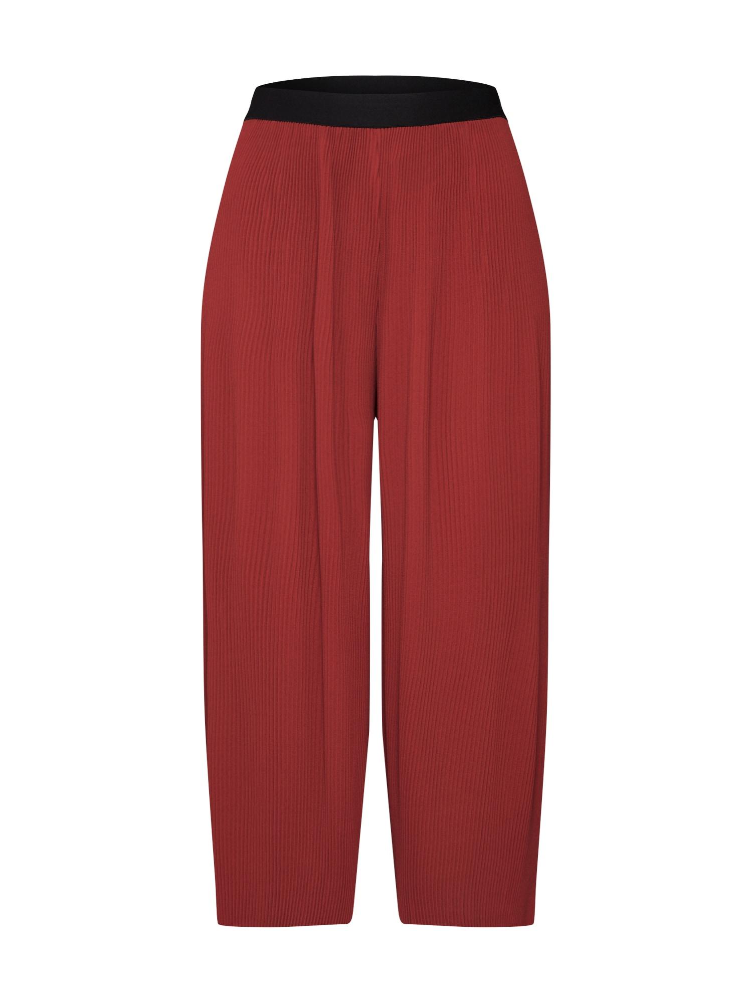 Kalhoty YOLU červená VERO MODA
