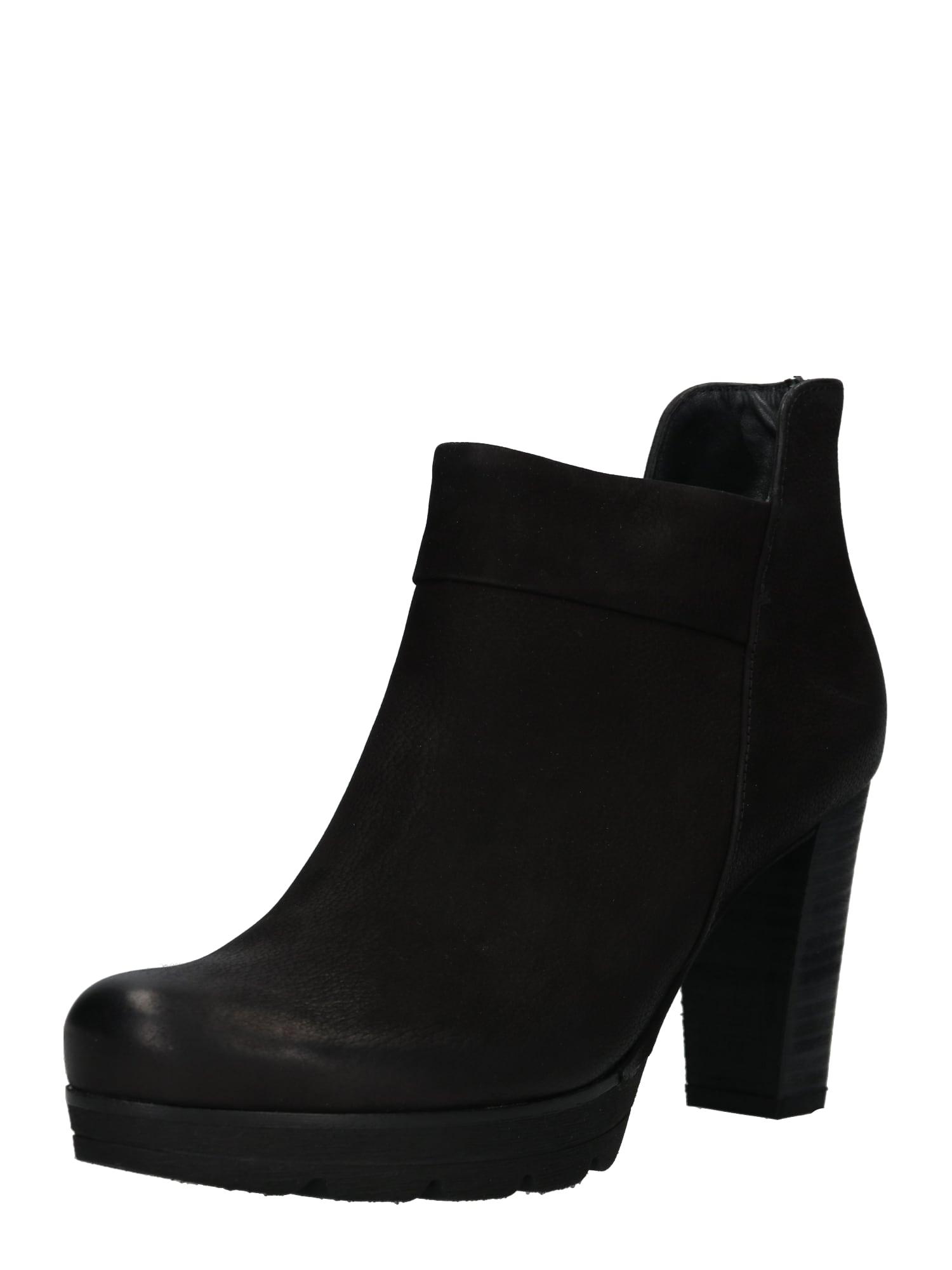 Kotníkové boty černá Paul Green