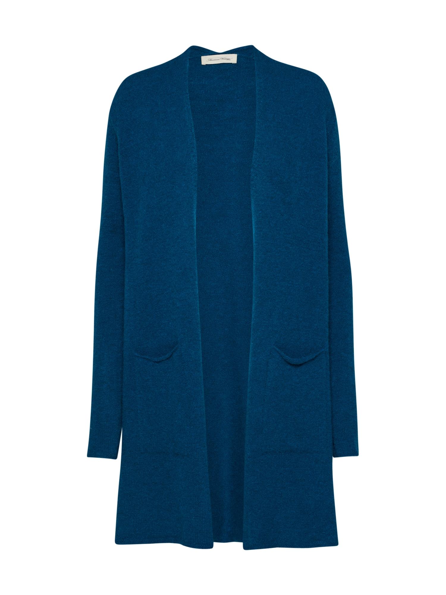 Pletený kabátek modrá AMERICAN VINTAGE
