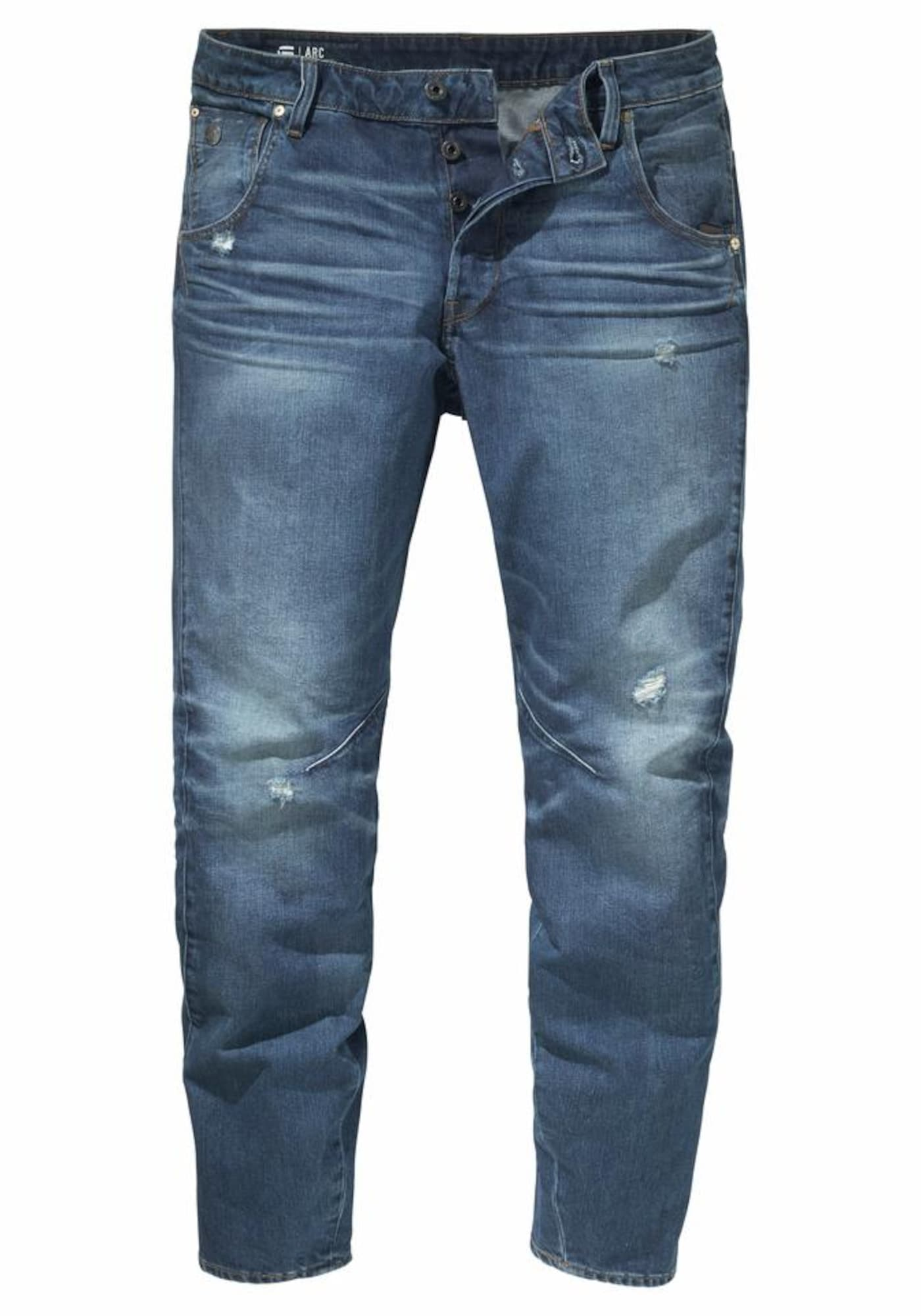G-STAR RAW Heren Jeans ARC 3D Tapered blue denim