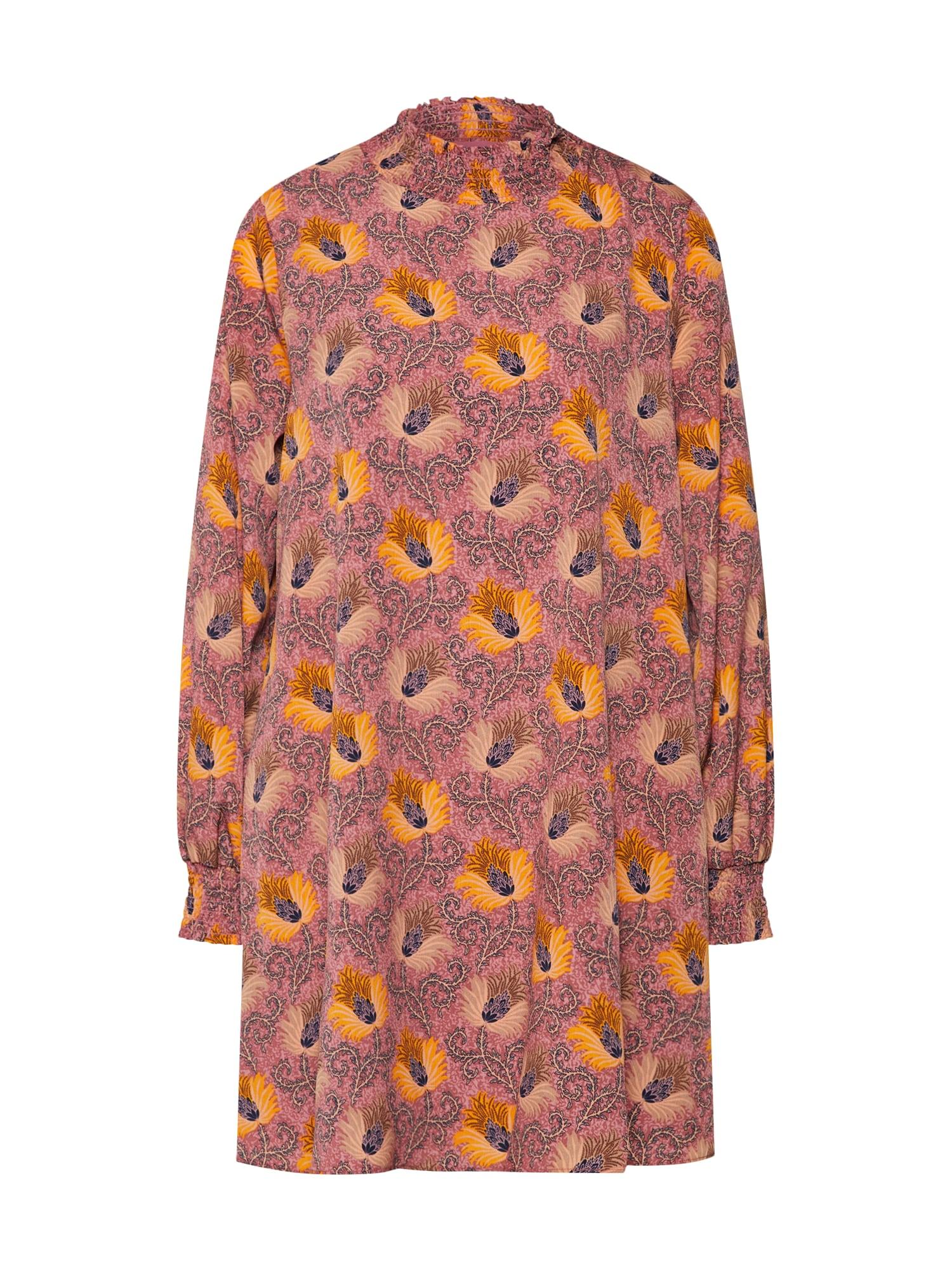 Šaty HP0170 oranžová pink GLAMOROUS