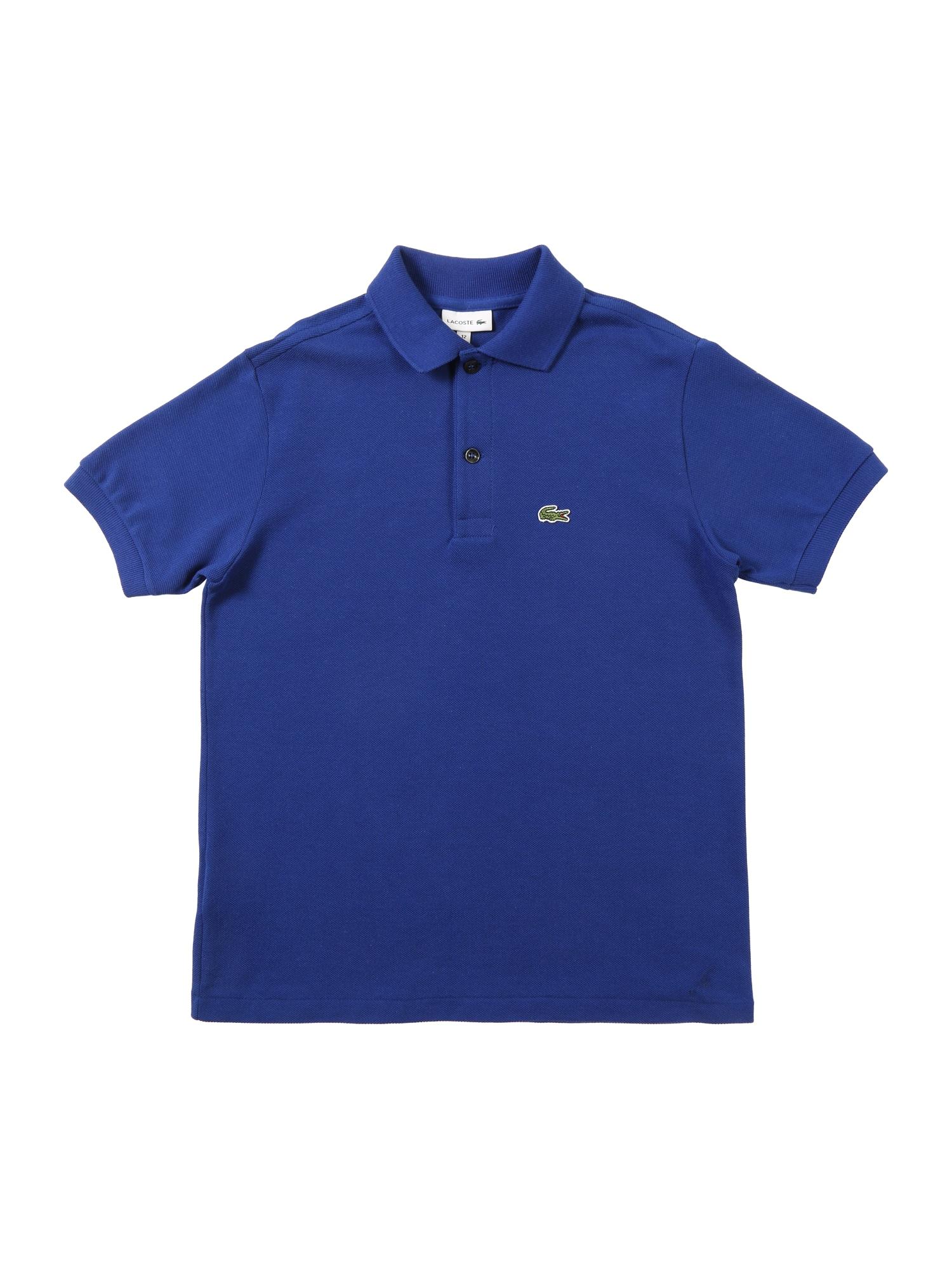 Tričko modrá LACOSTE