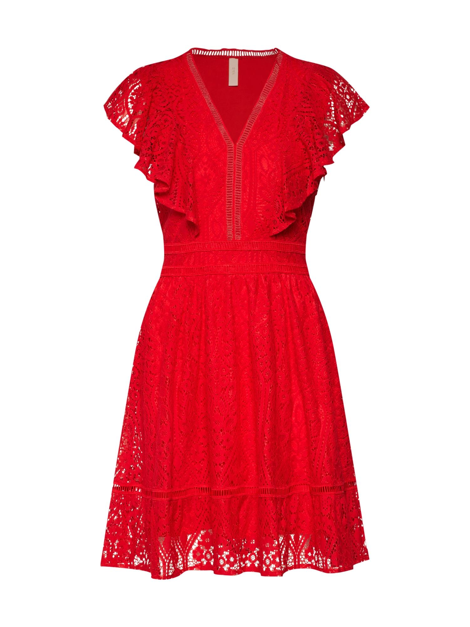 Šaty MALMA červená Y.A.S
